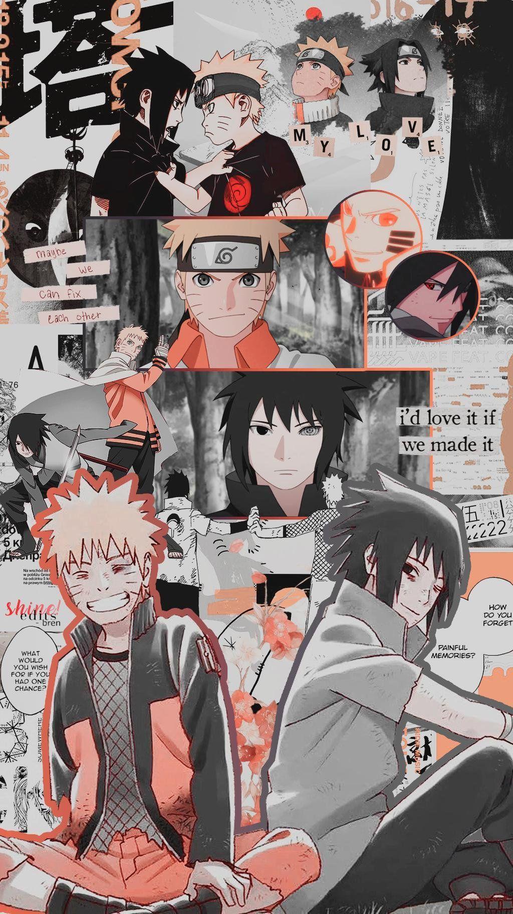 Anime Naruto Aesthetics Wallpapers Wallpaper Cave