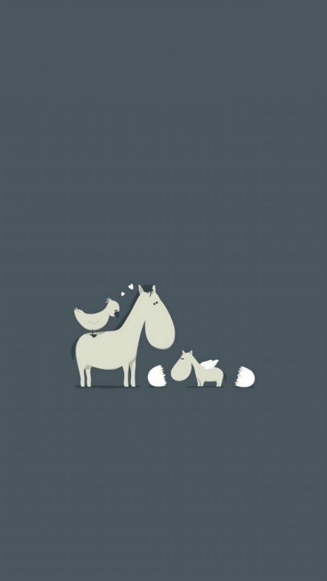 Cartoon Horse Wallpapers Wallpaper Cave