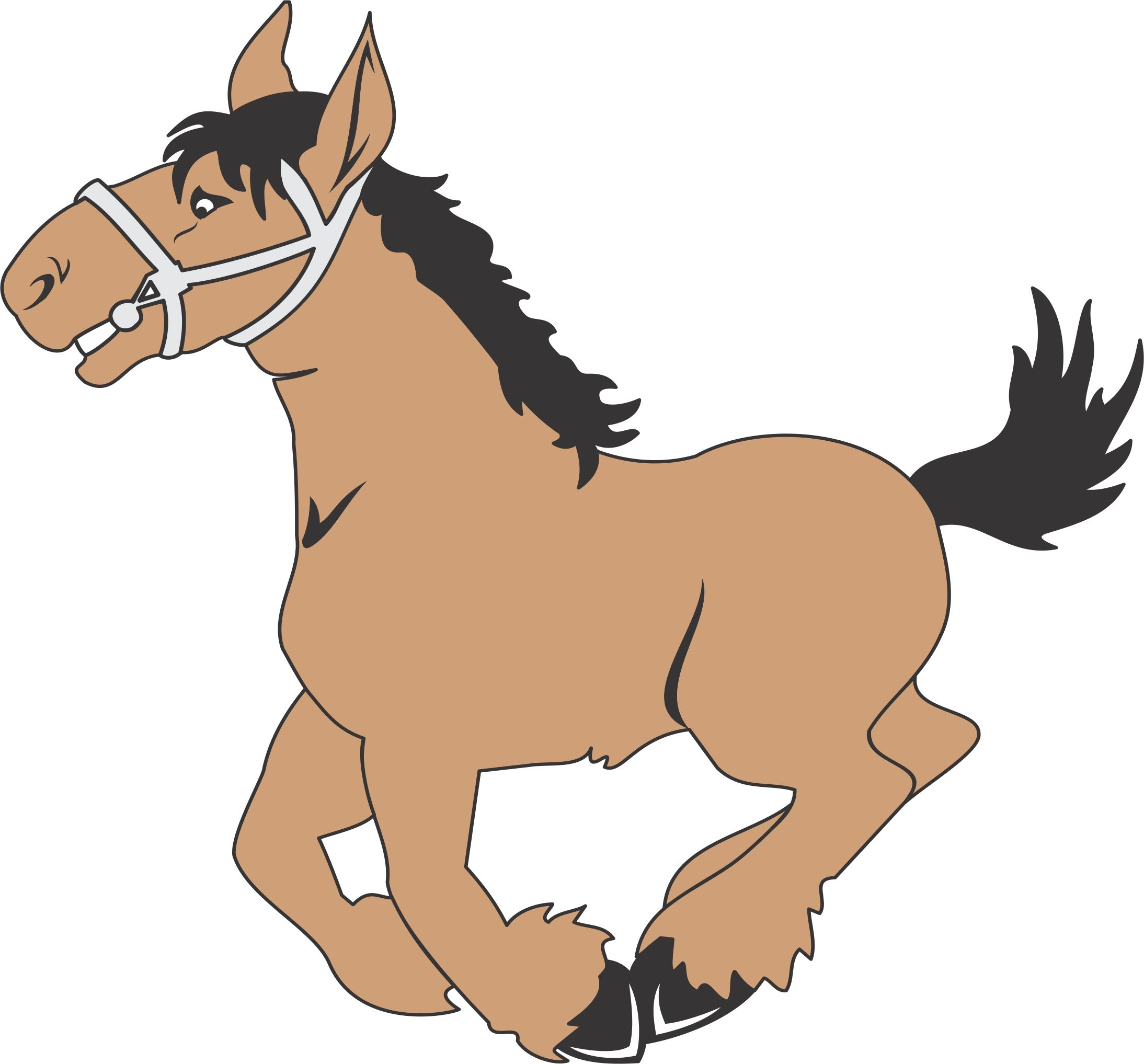 Free Funny Horse Pictures Cartoon, Download Free Clip Art, Free