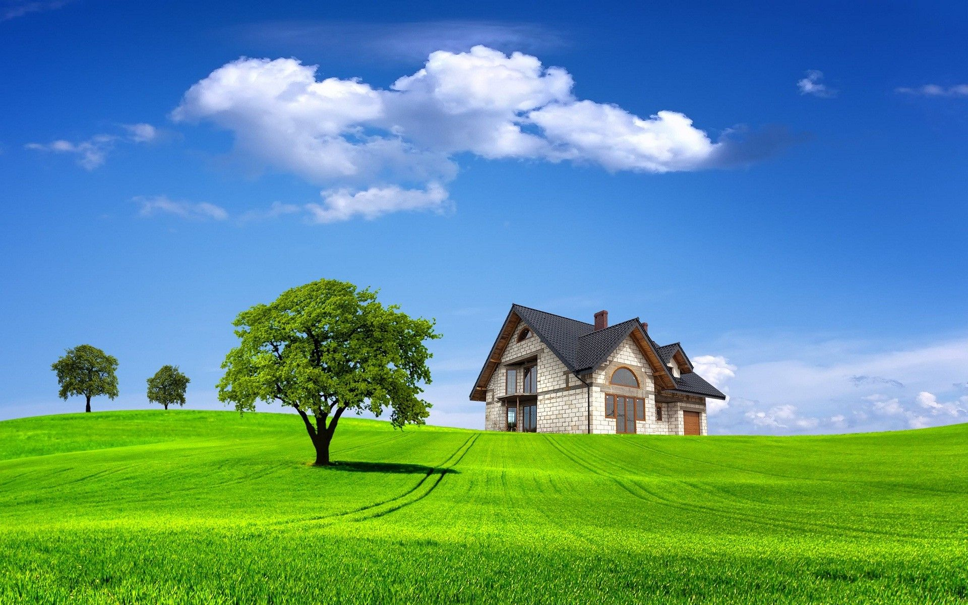 Village Nature Wallpapers Wallpaper Cave