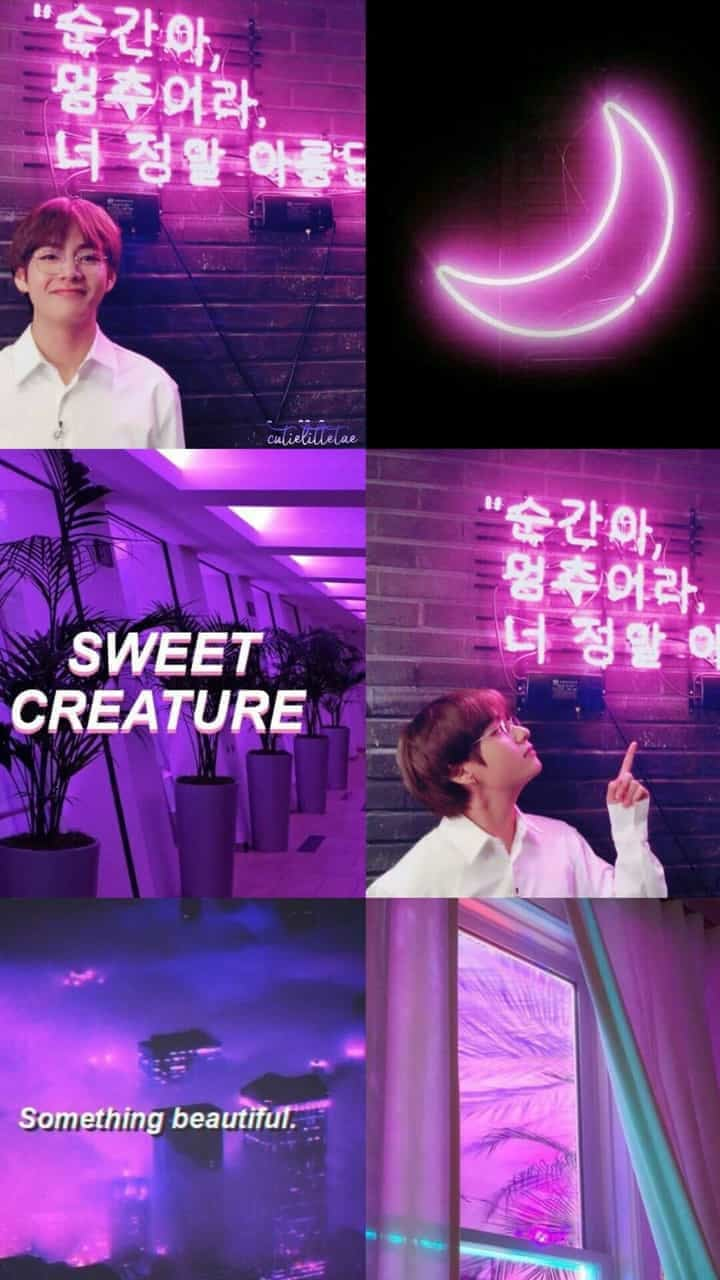 Aesthetic, Neon, And Oppa Image
