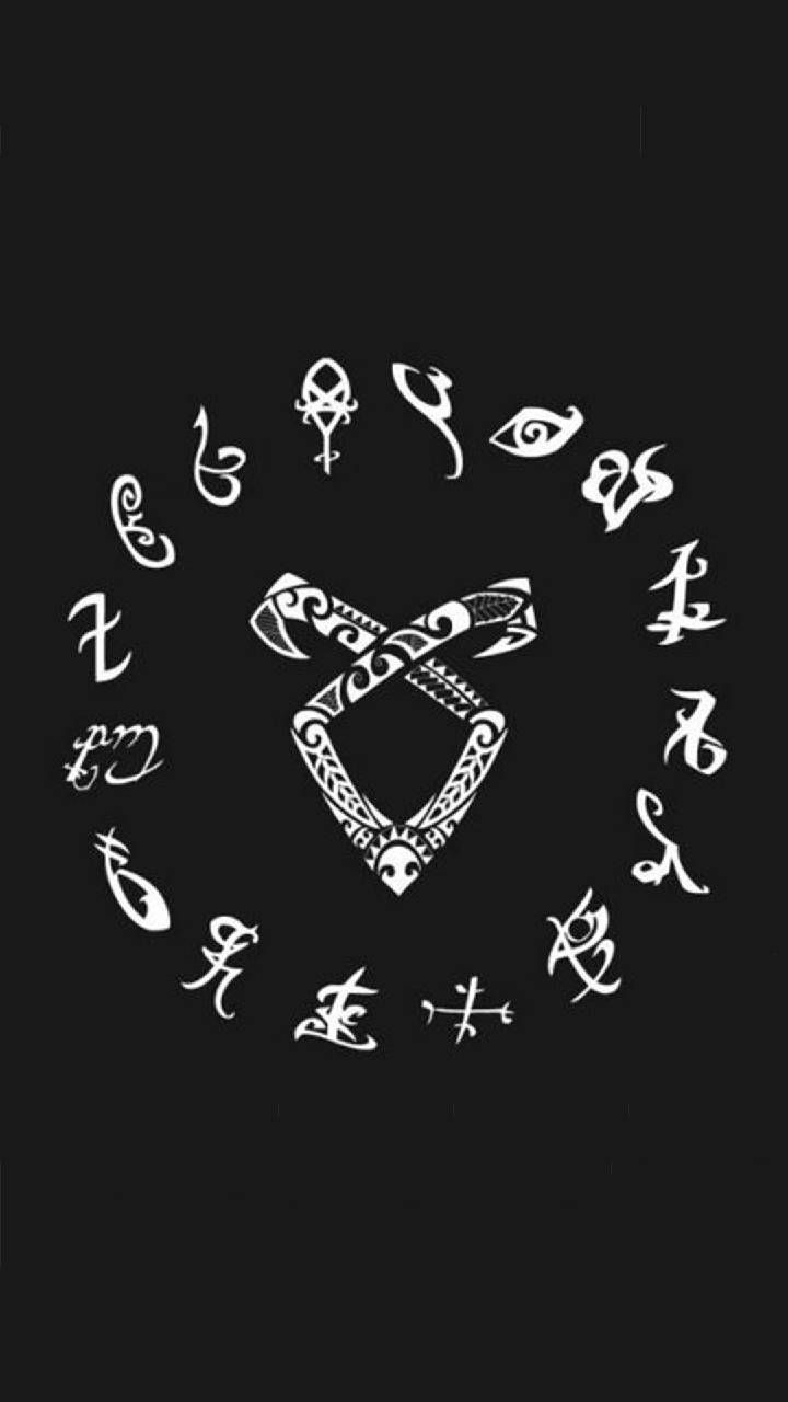 Shadowhunter Runes Wallpapers Wallpaper Cave