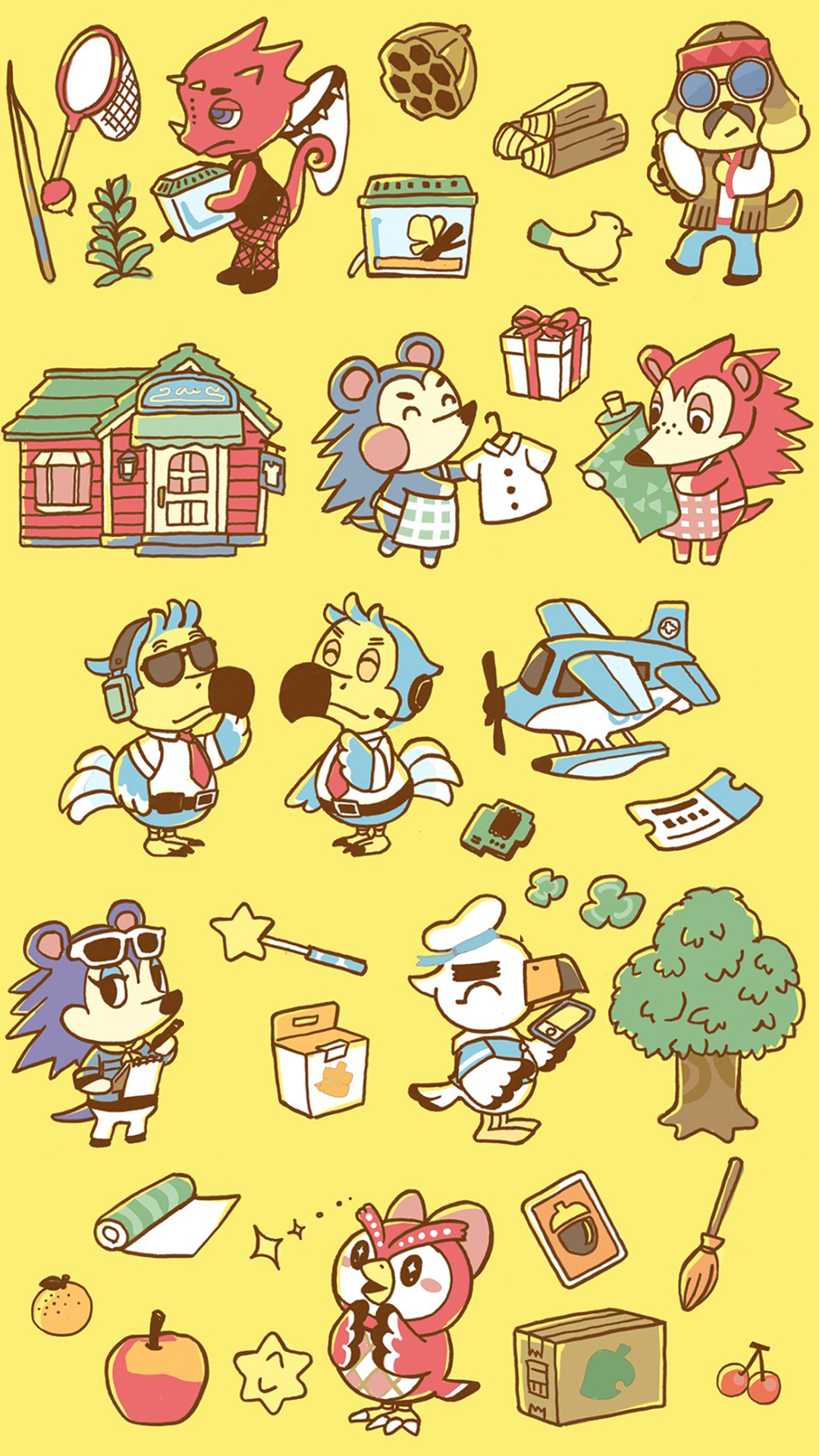 Animal Crossing iPhone Wallpapers - Wallpaper Cave