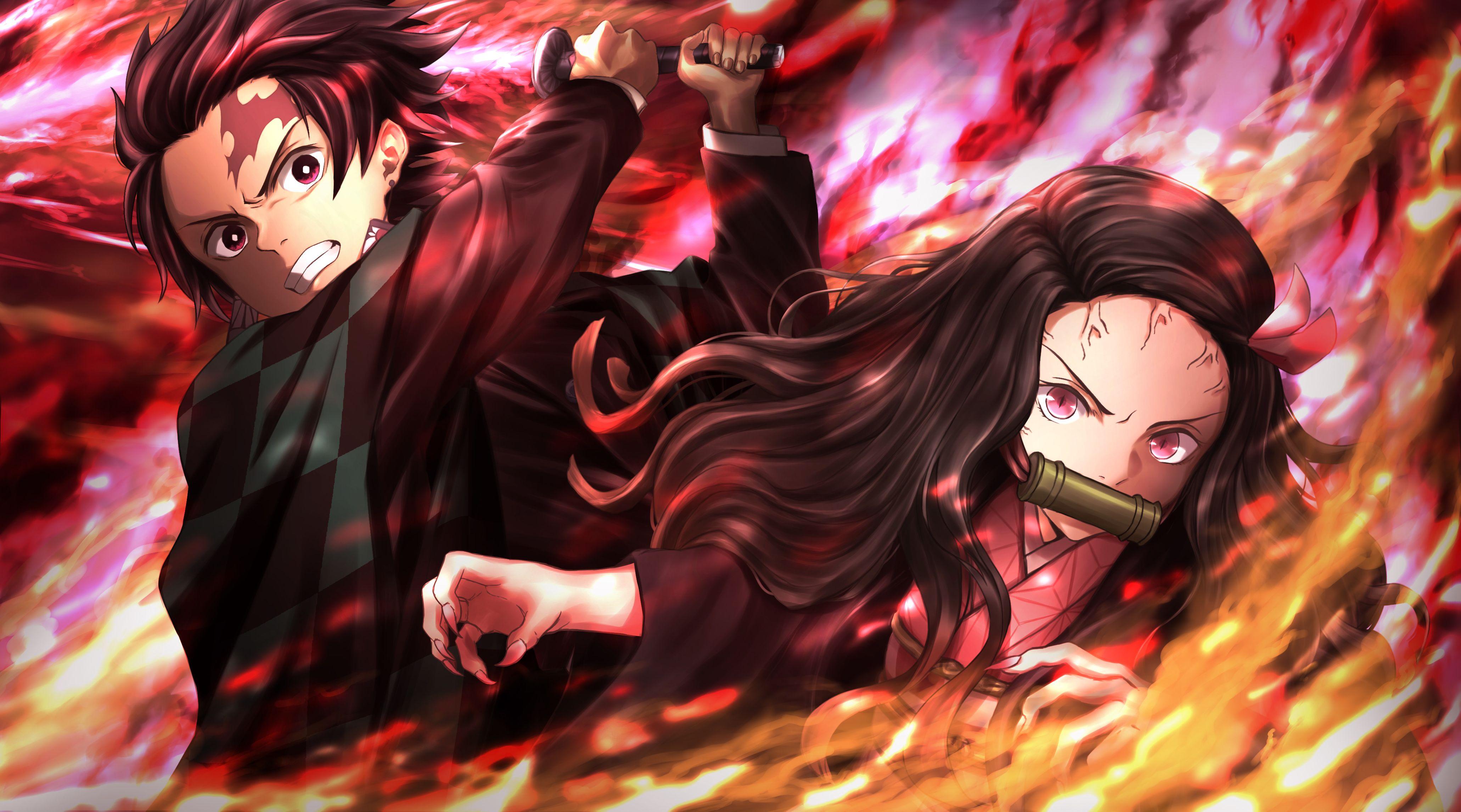 Desktop HD Anime Demon Slayer Wallpapers - Wallpaper Cave