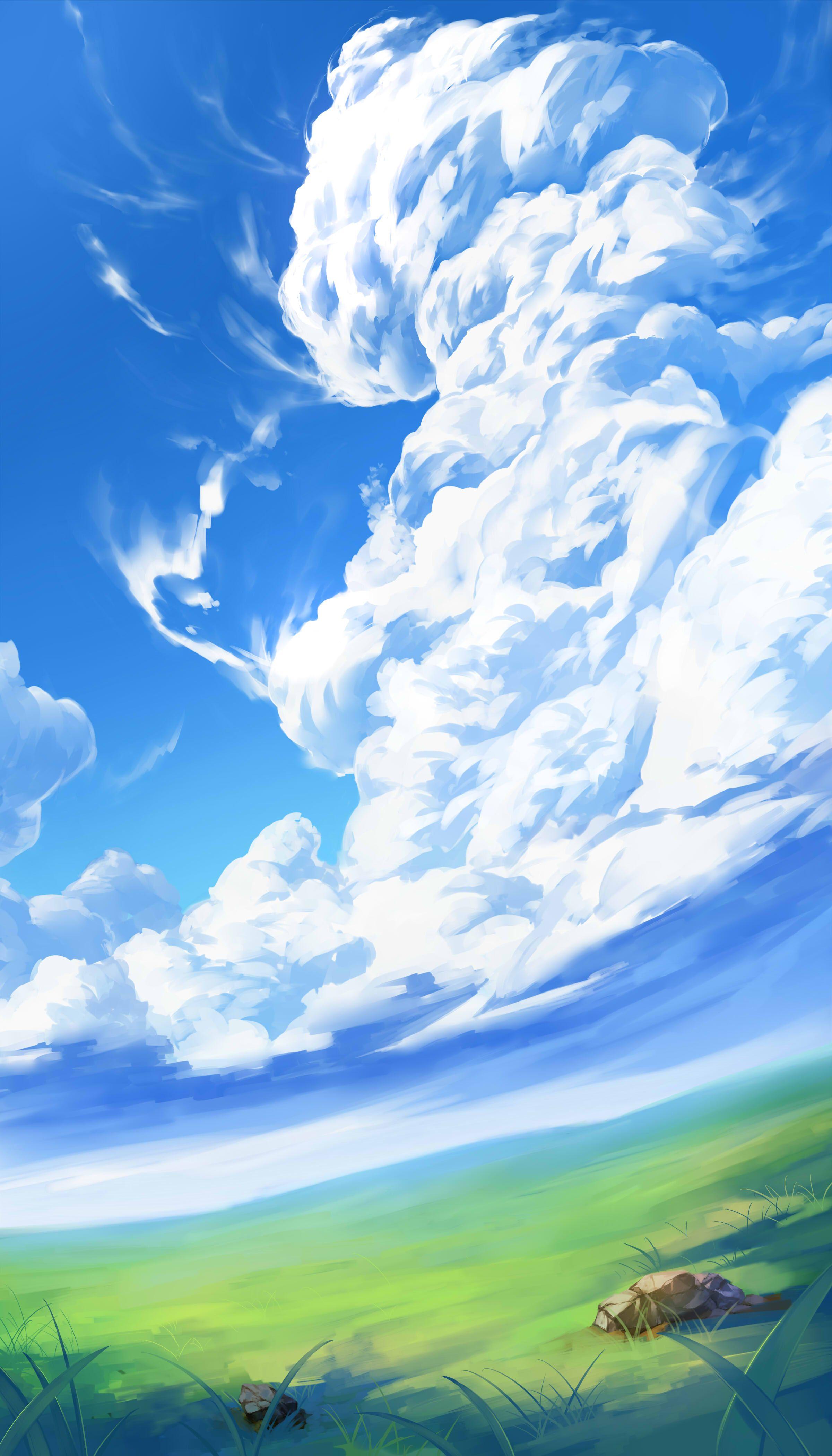 Grassland Anime Wallpapers - Wallpaper Cave