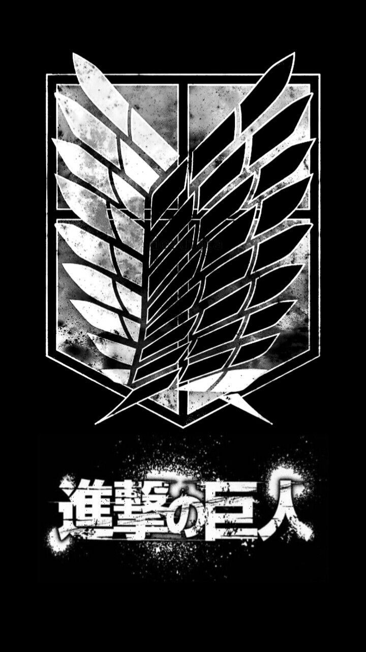 Aot Logo Hd Android Wallpapers Wallpaper Cave