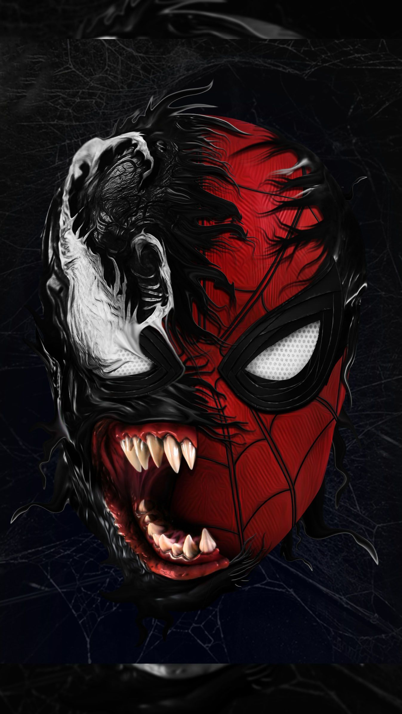 Red Venom iPhone Wallpapers - Wallpaper Cave