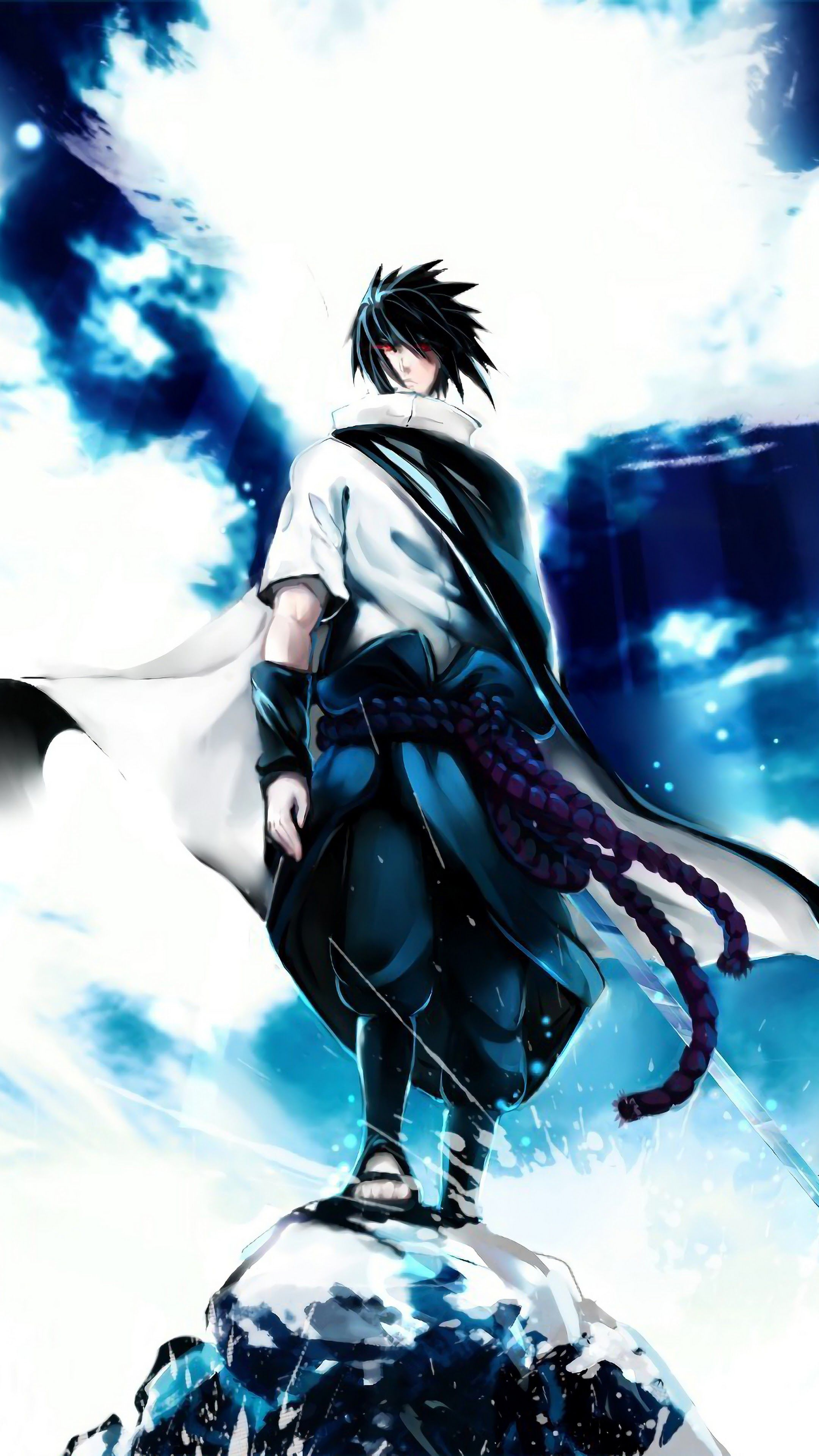 Sasuke Uchiha Phone Wallpapers Wallpaper Cave