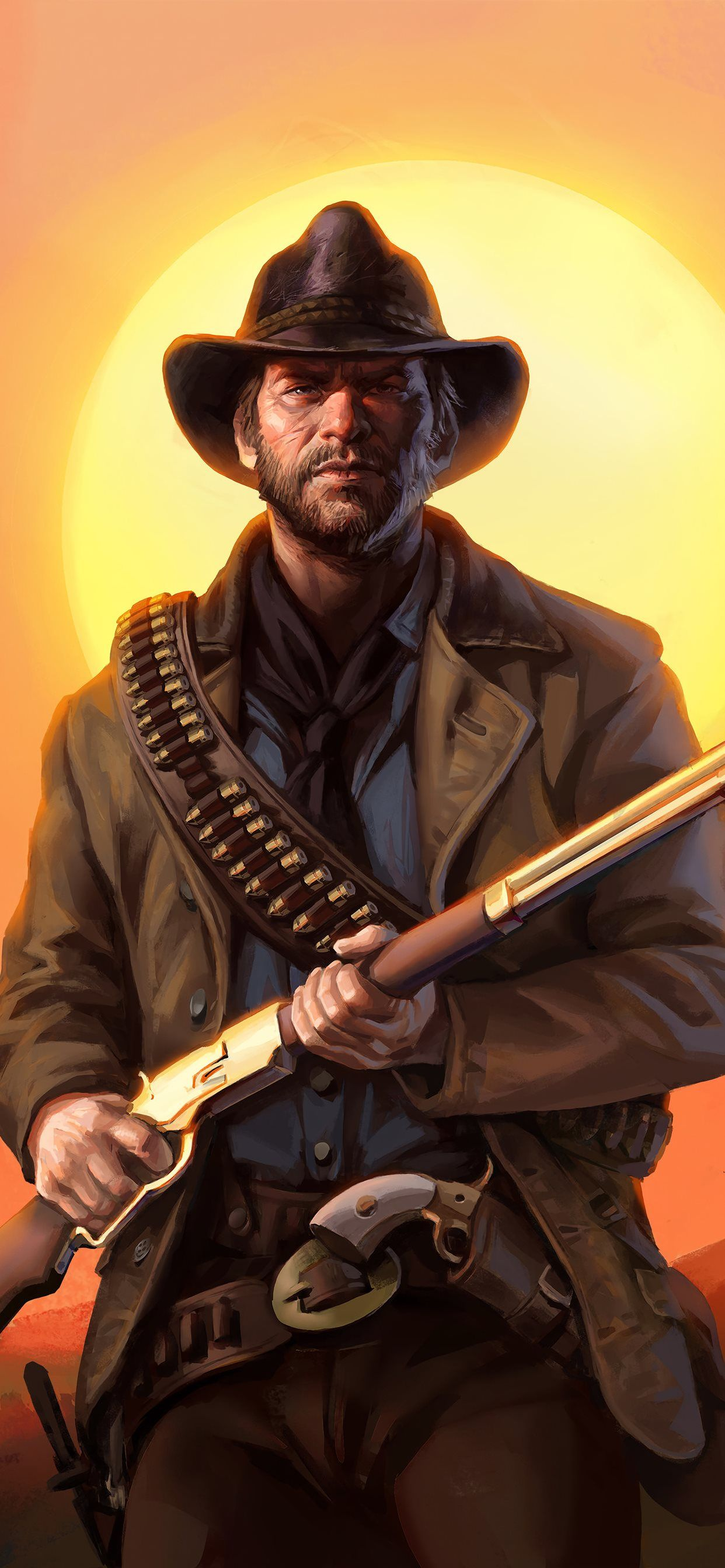 Red Dead Redemption 2 iPhone Wallpapers - Wallpaper Cave