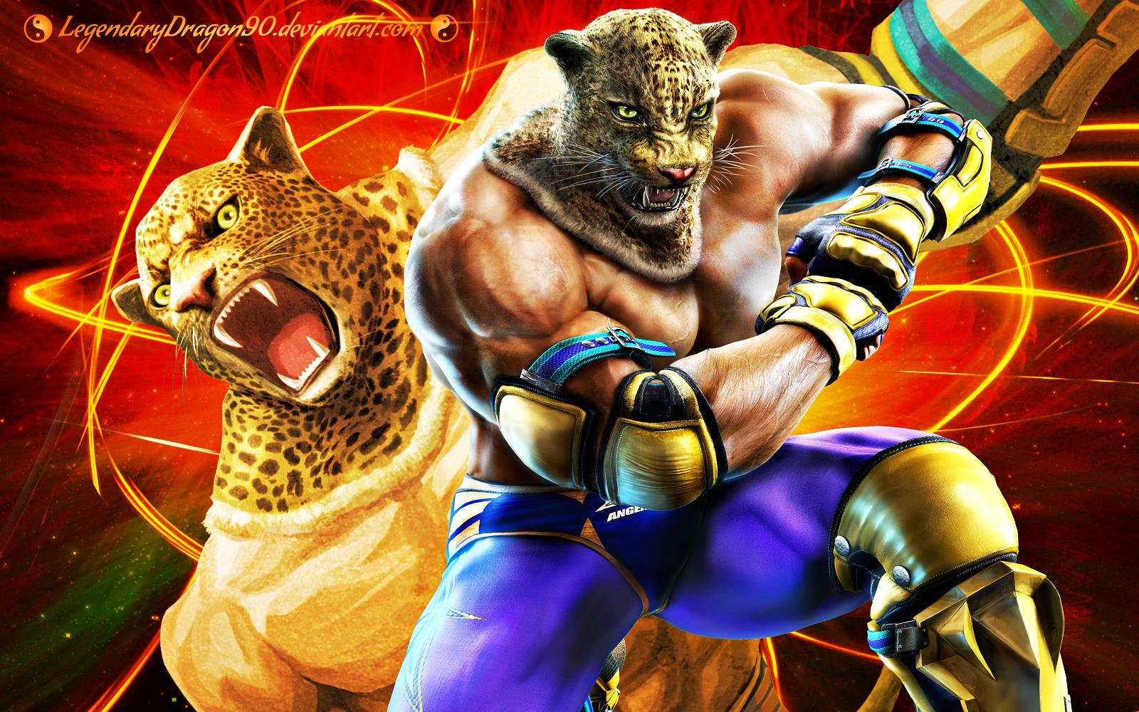 King Tekken Desktop Wallpapers Wallpaper Cave