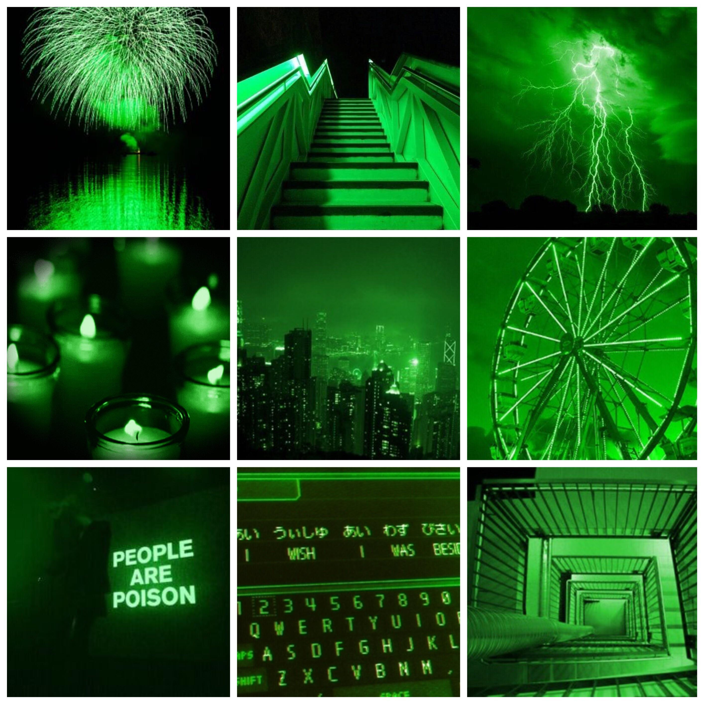 Green Aesthetic Collage Wallpapers - Wallpaper Cave