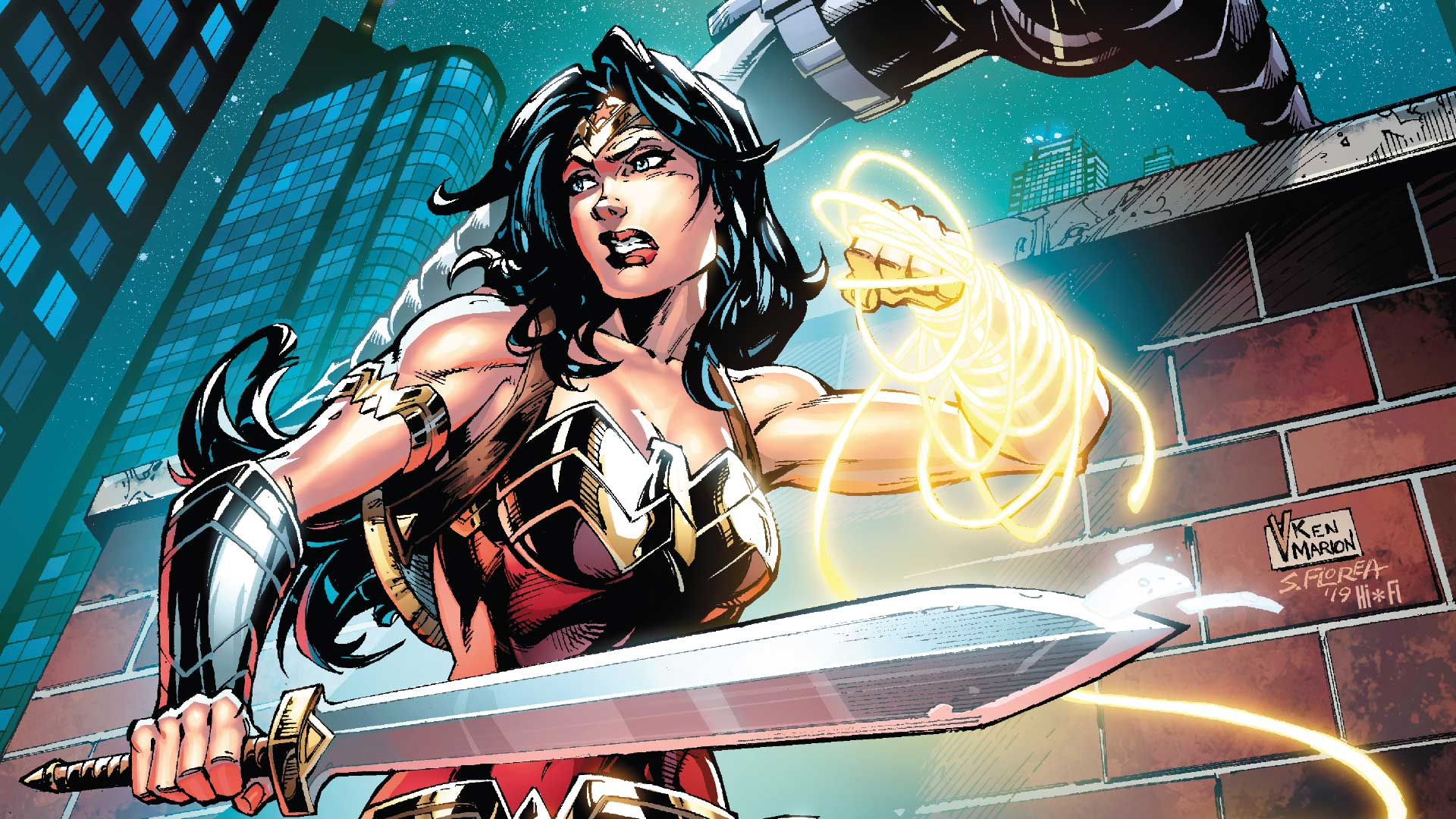 First Look: Wonder Woman Comes Face to Face with the Cheetah
