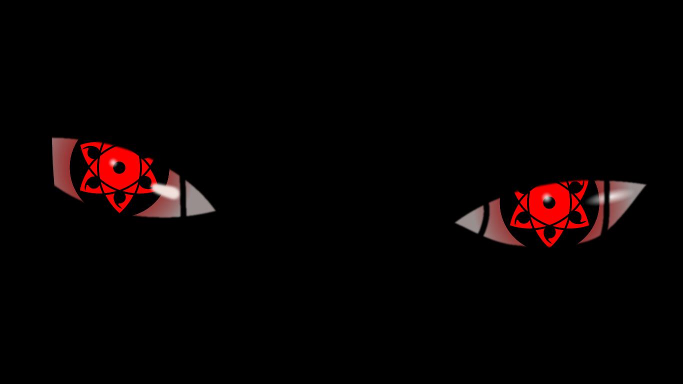 Sasuke Sharingan Eyes Wallpaper