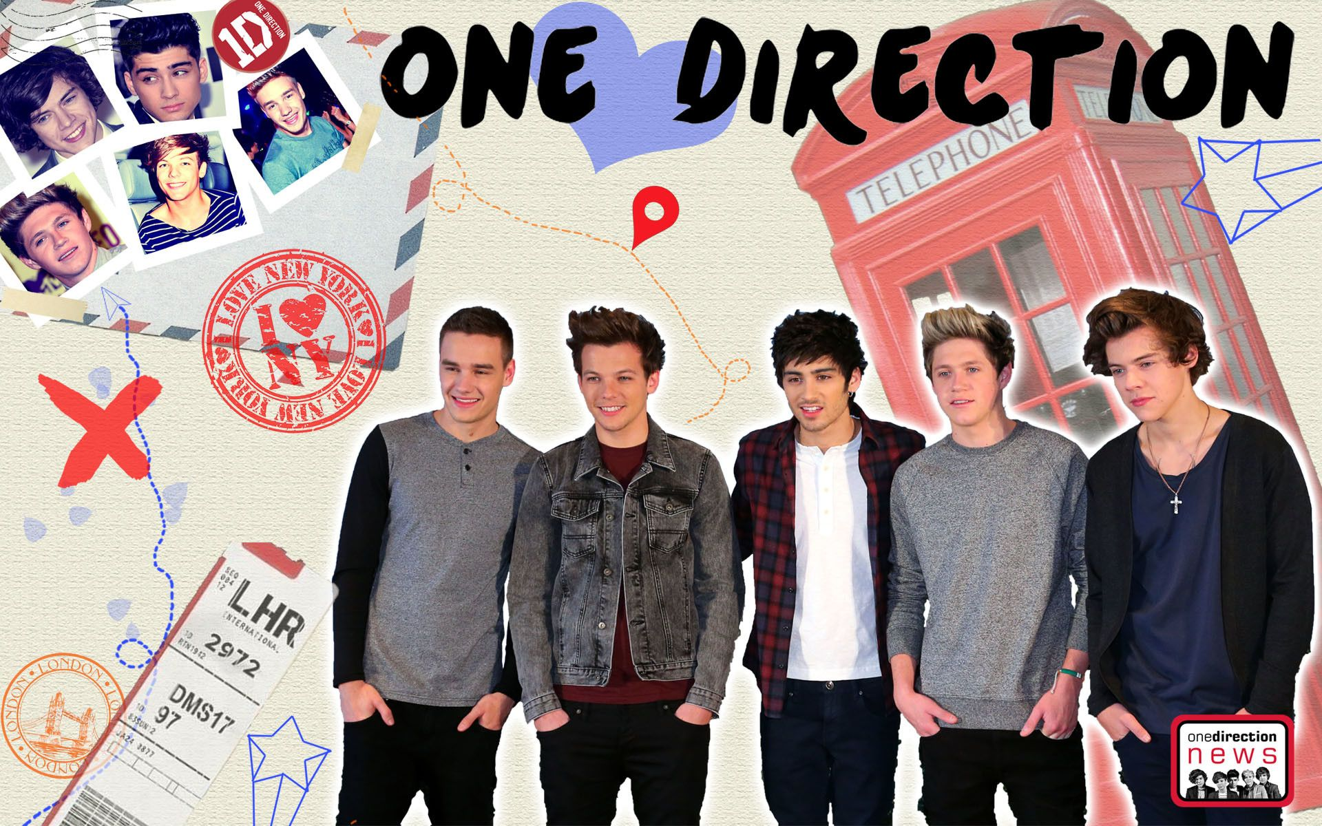 53+ One Direction Wallpapers Without Zayn
