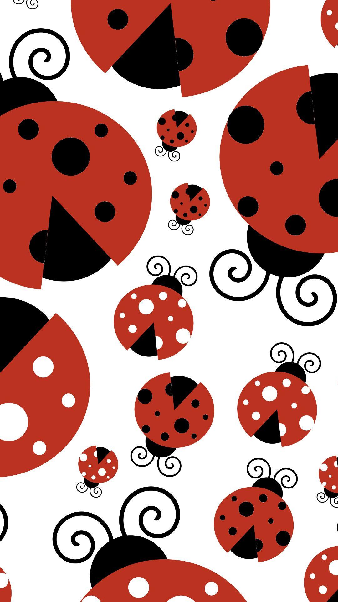 Ladybug Cartoon Wallpapers Wallpaper Cave