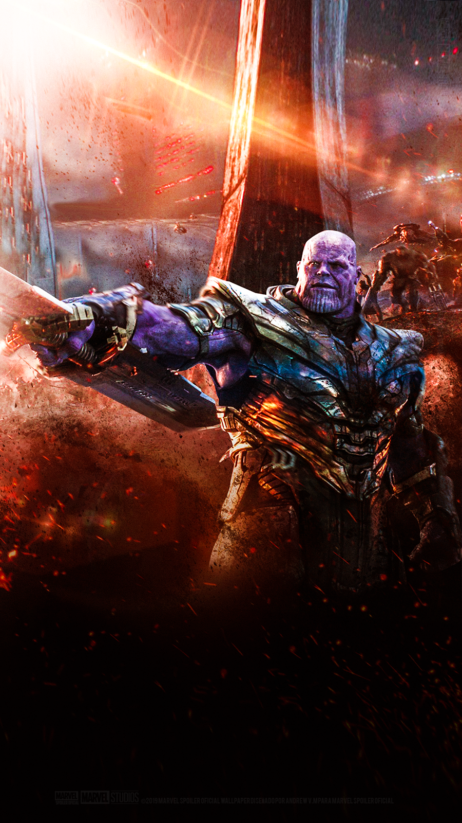 Thanos 4k Android Wallpapers Wallpaper Cave