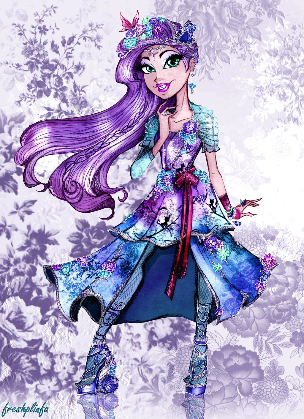 Ever After High Kitty Cheshire Wallpapers - Wallpaper Cave