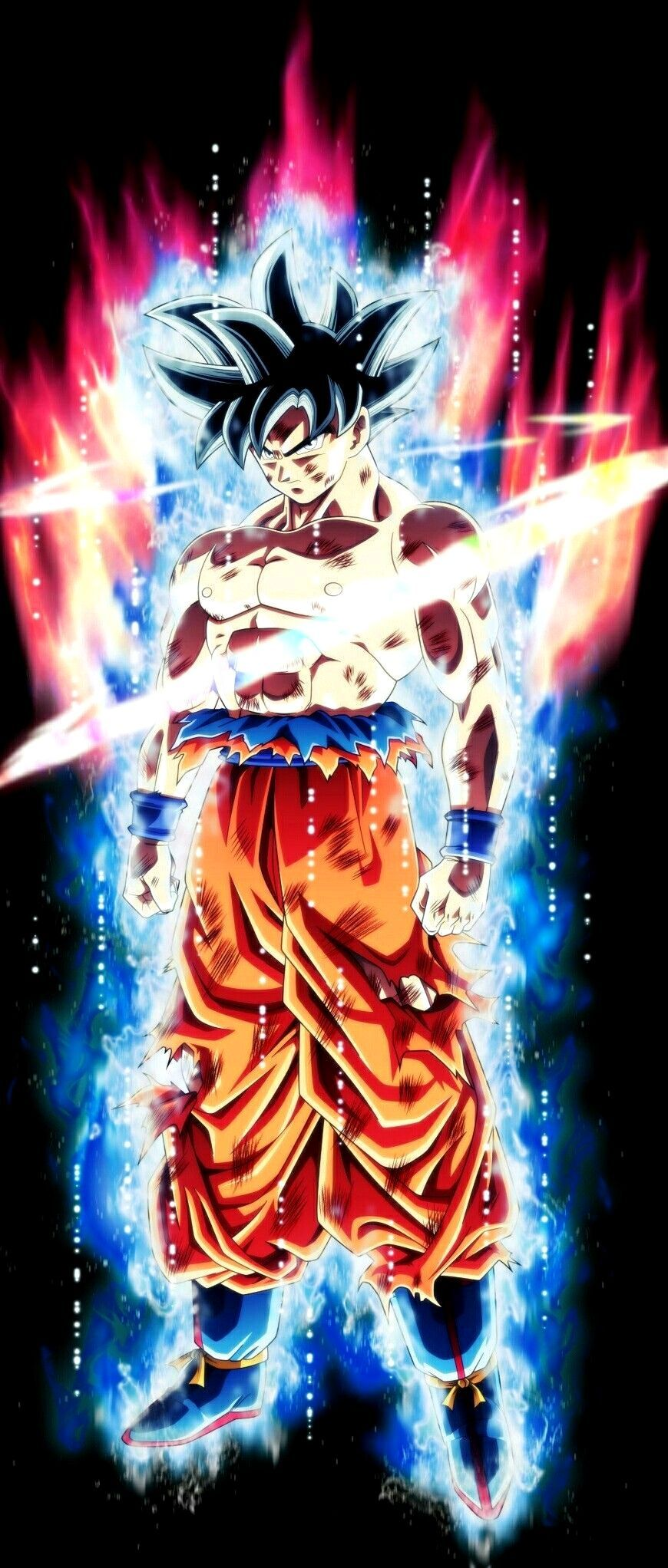Red Goku Hd Iphone Android Wallpapers Wallpaper Cave