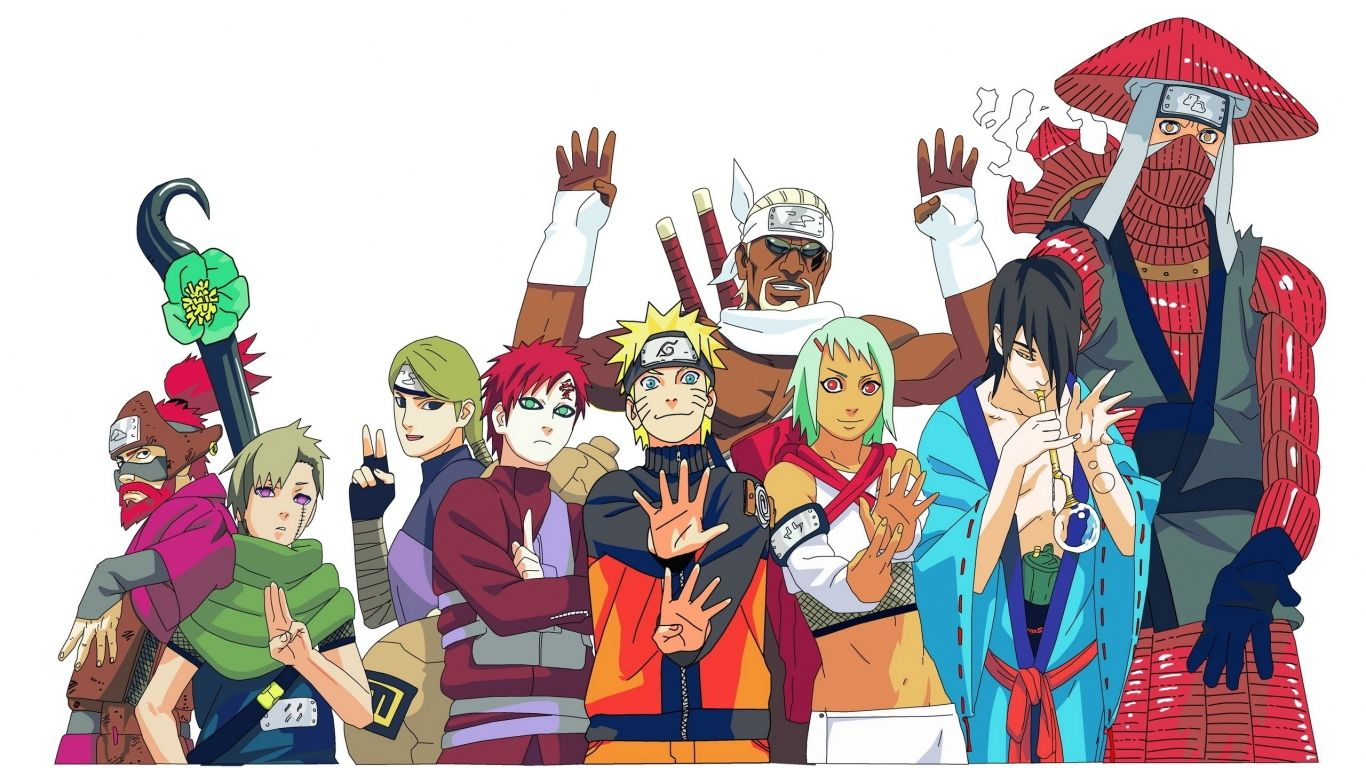 Aesthetic Naruto Laptop Wallpapers Wallpaper Cave