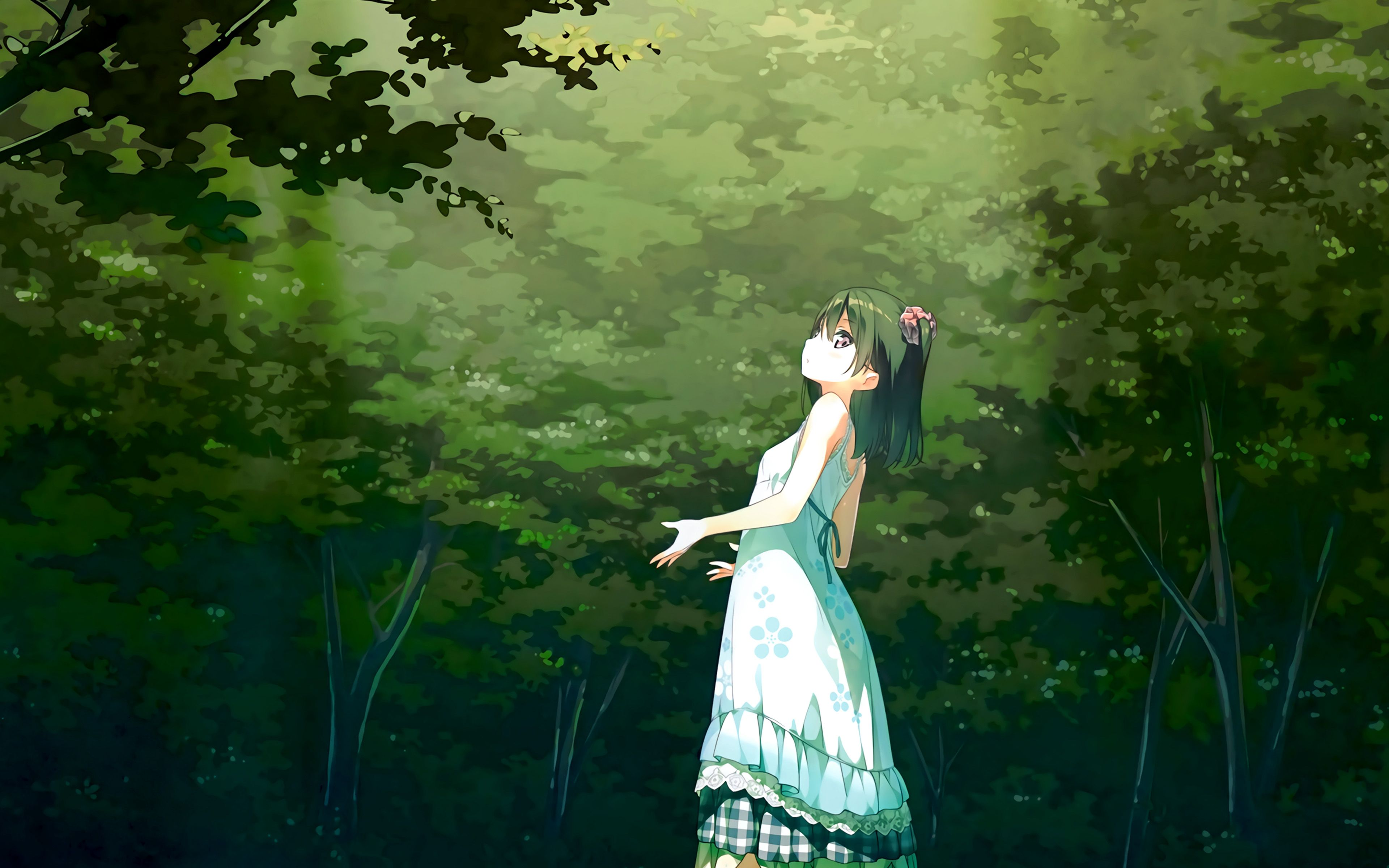 4k Light Green Anime Wallpapers - Wallpaper Cave