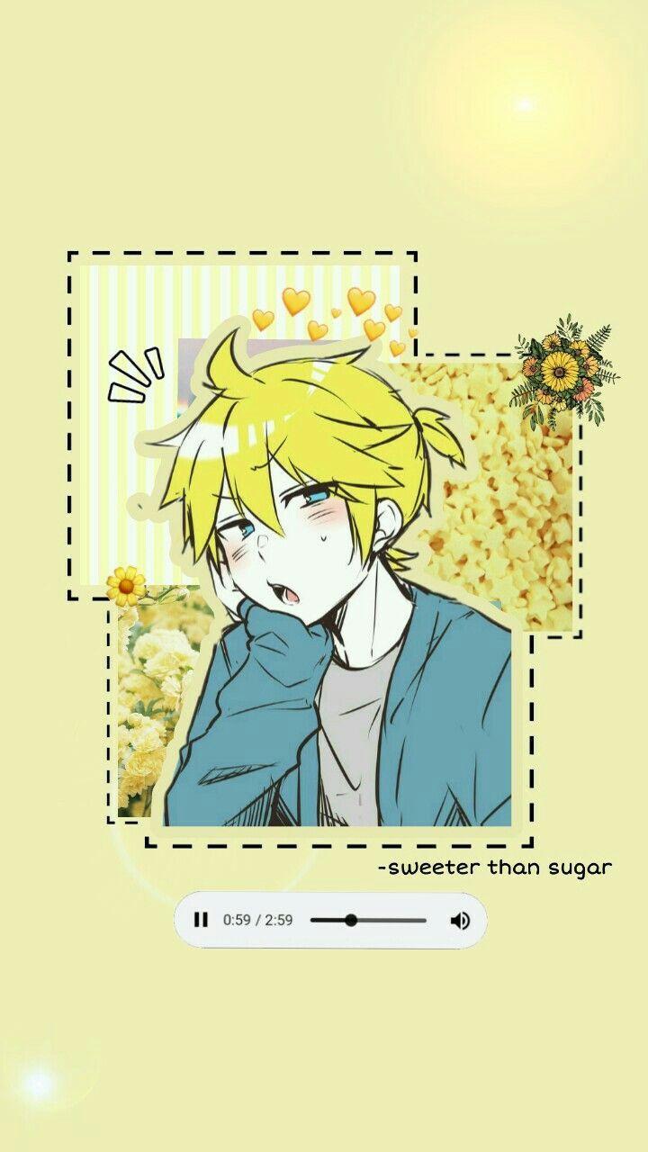 yellow anime wallpapers