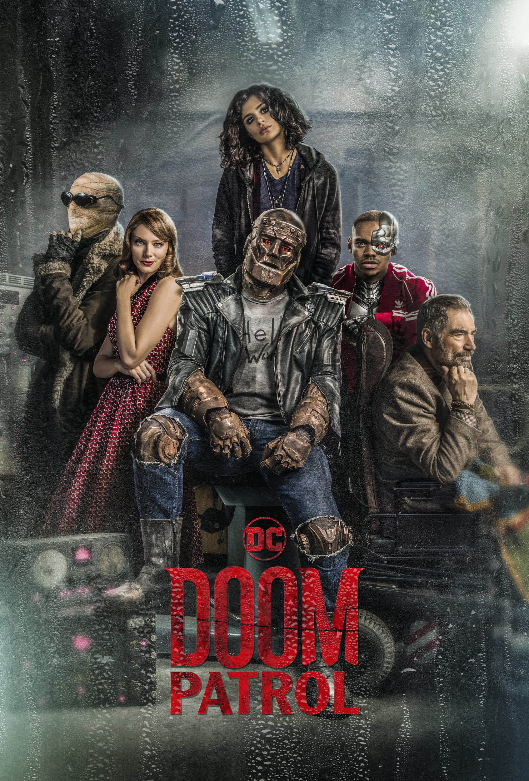 doom patrol season 2 movie poster