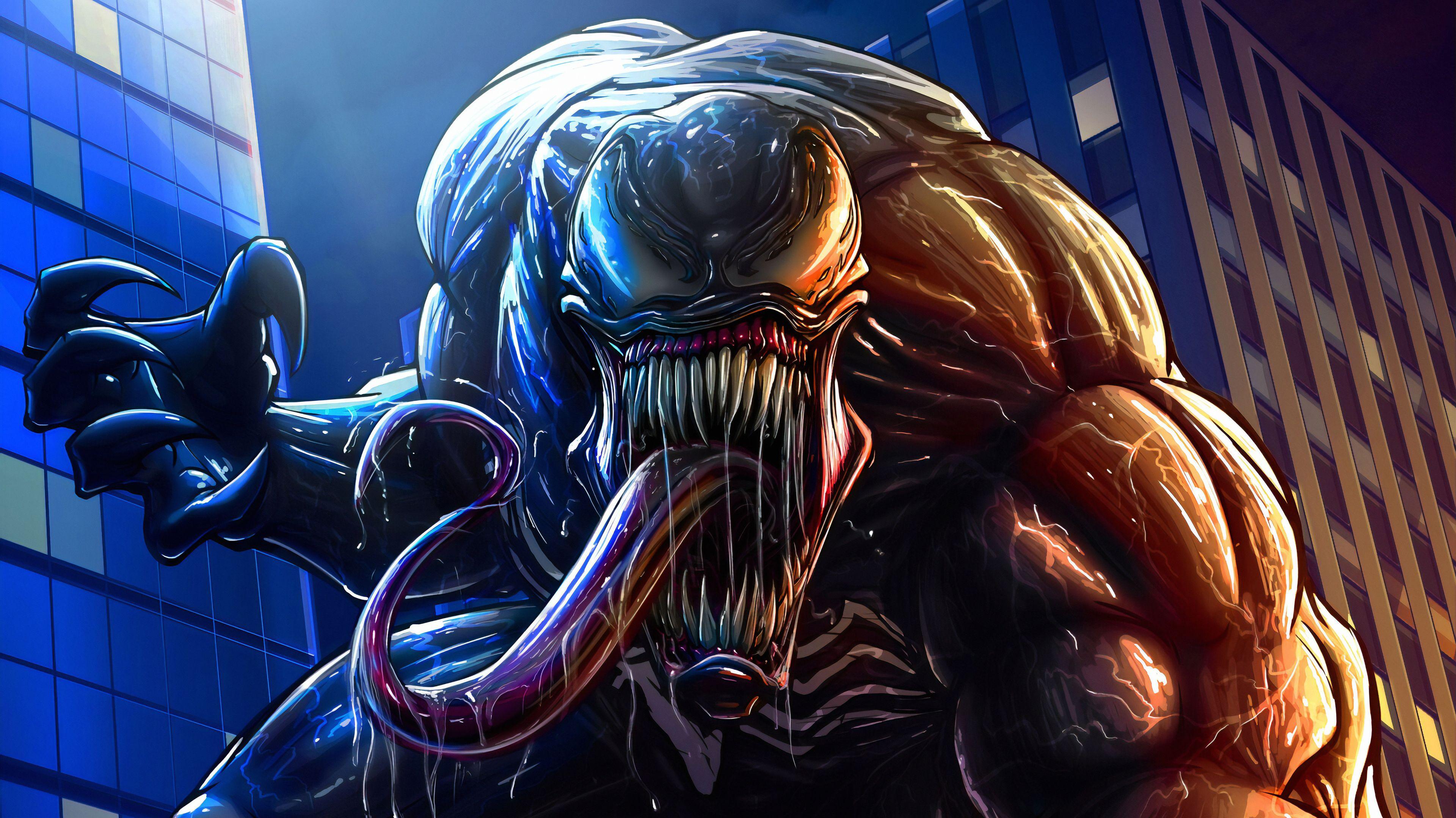 Venom 2 4K Art Wallpapers - Wallpaper Cave