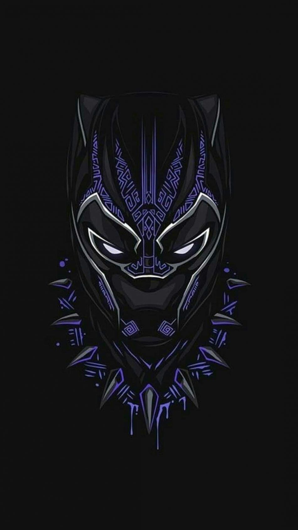 Black Panther Mobile Hd Wallpapers Wallpaper Cave
