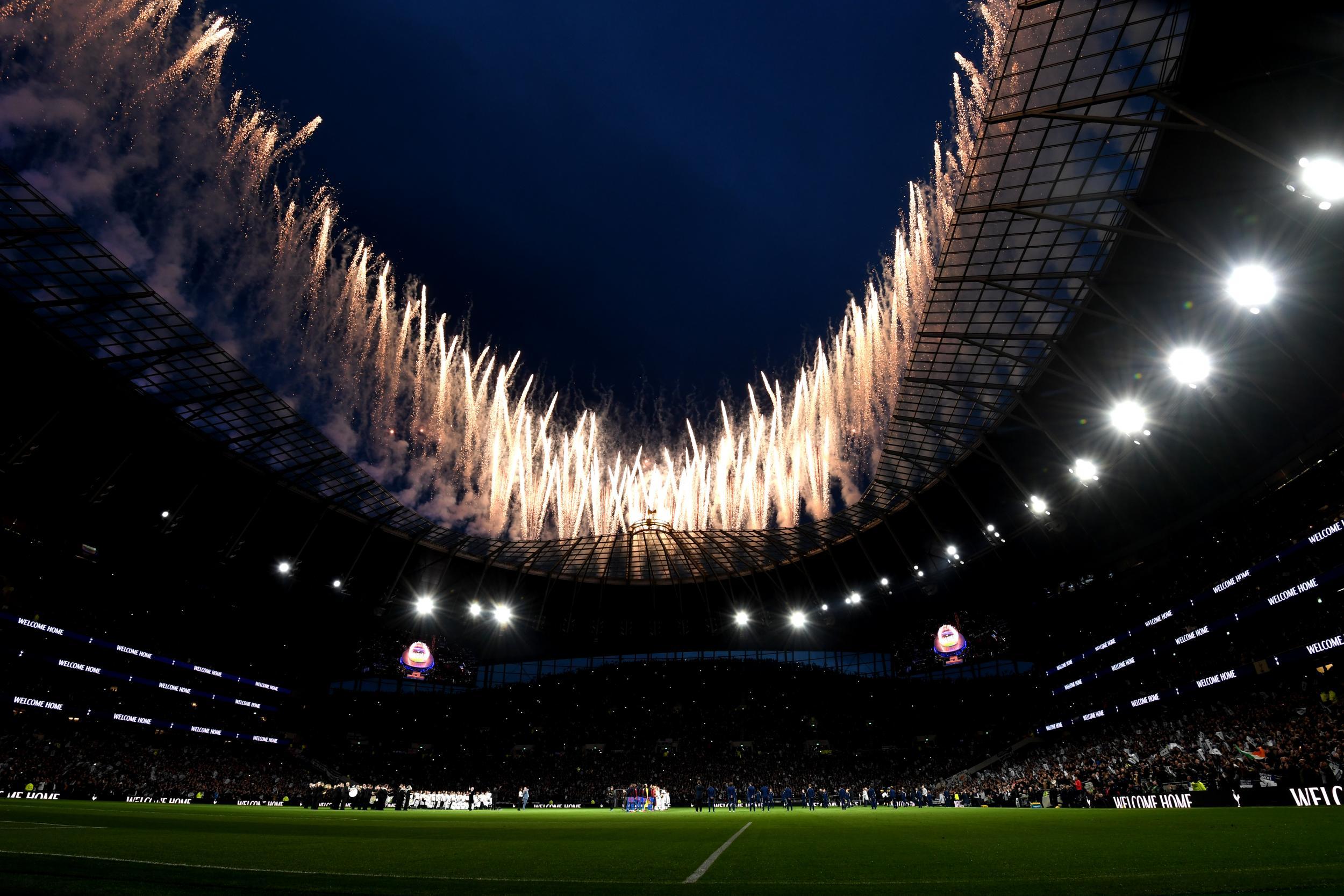 Tottenham Hotspur Stadium Desktop Wallpapers - Wallpaper Cave