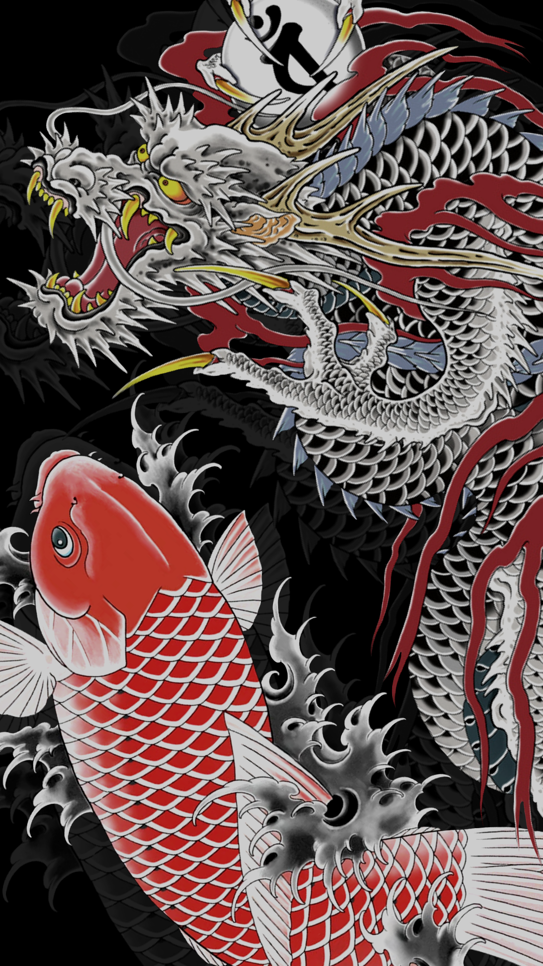 Japanese Dragon HD Aesthetic Wallpapers - Wallpaper Cave