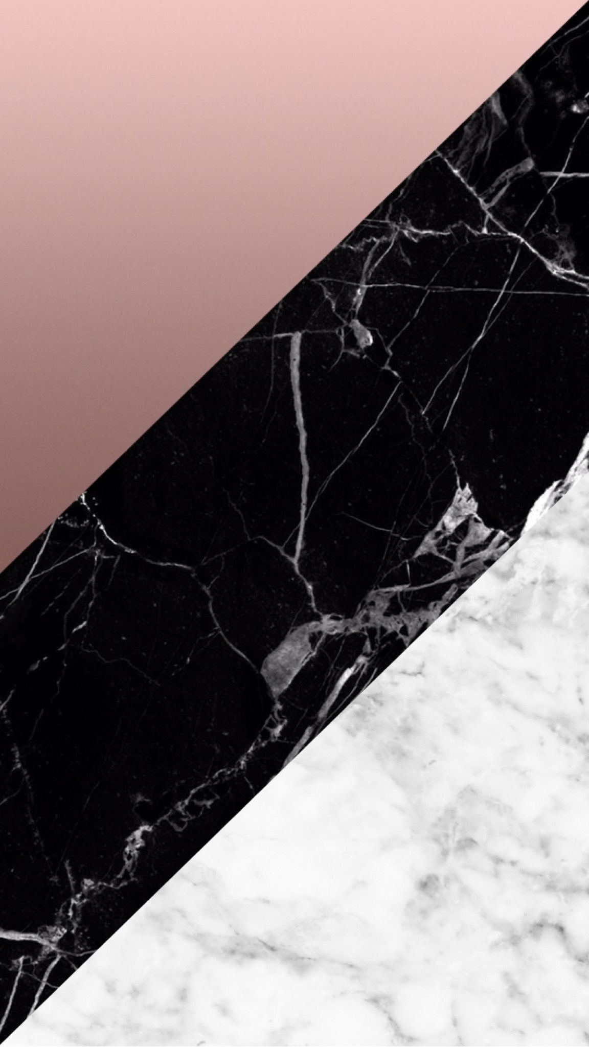 Black And Rose Gold Phone Wallpapers Wallpaper Cave