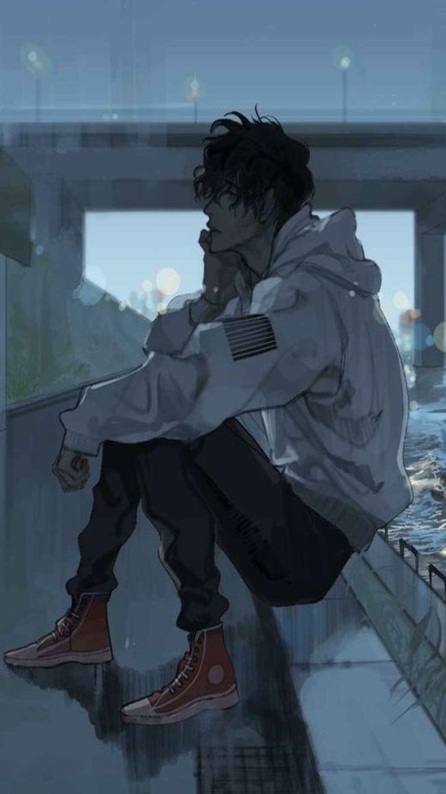 Sad Anime Profile Pictures Wallpapers