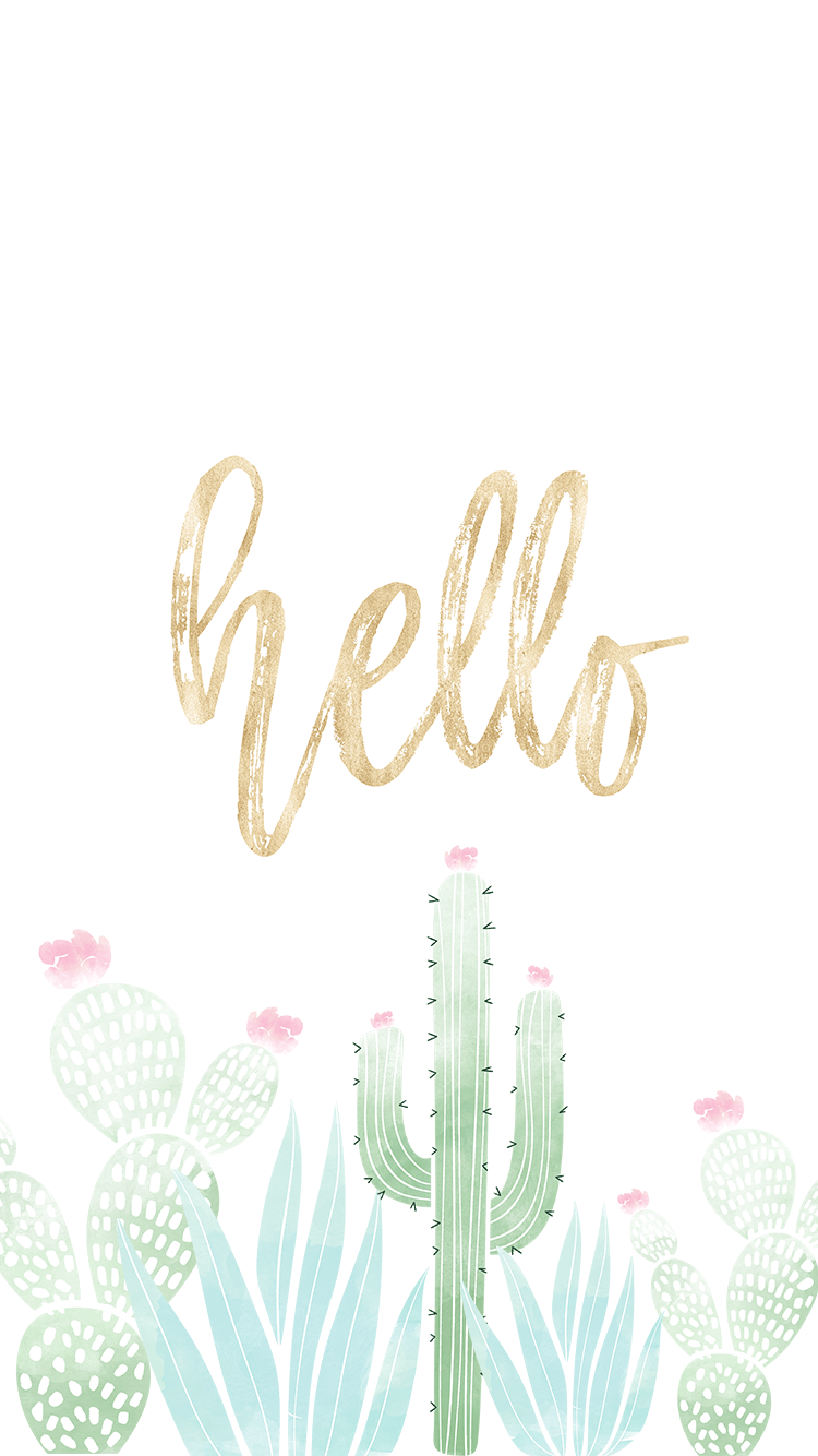 Pastel Wallpaper Aesthetic Iphone Cactus Wallpaper Novocom Top