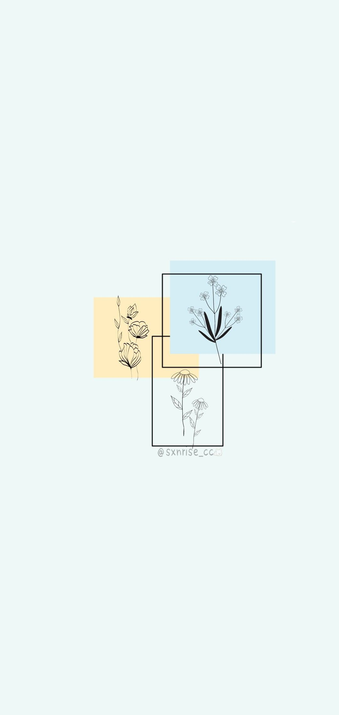 Minimalist Flowers Drawing Wallpapers Wallpaper Cave