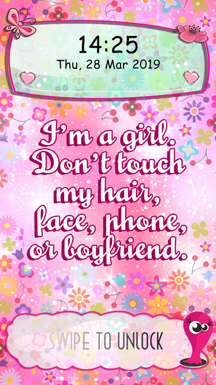 Don T Touch My Phone Girl Hd Wallpapers Wallpaper Cave