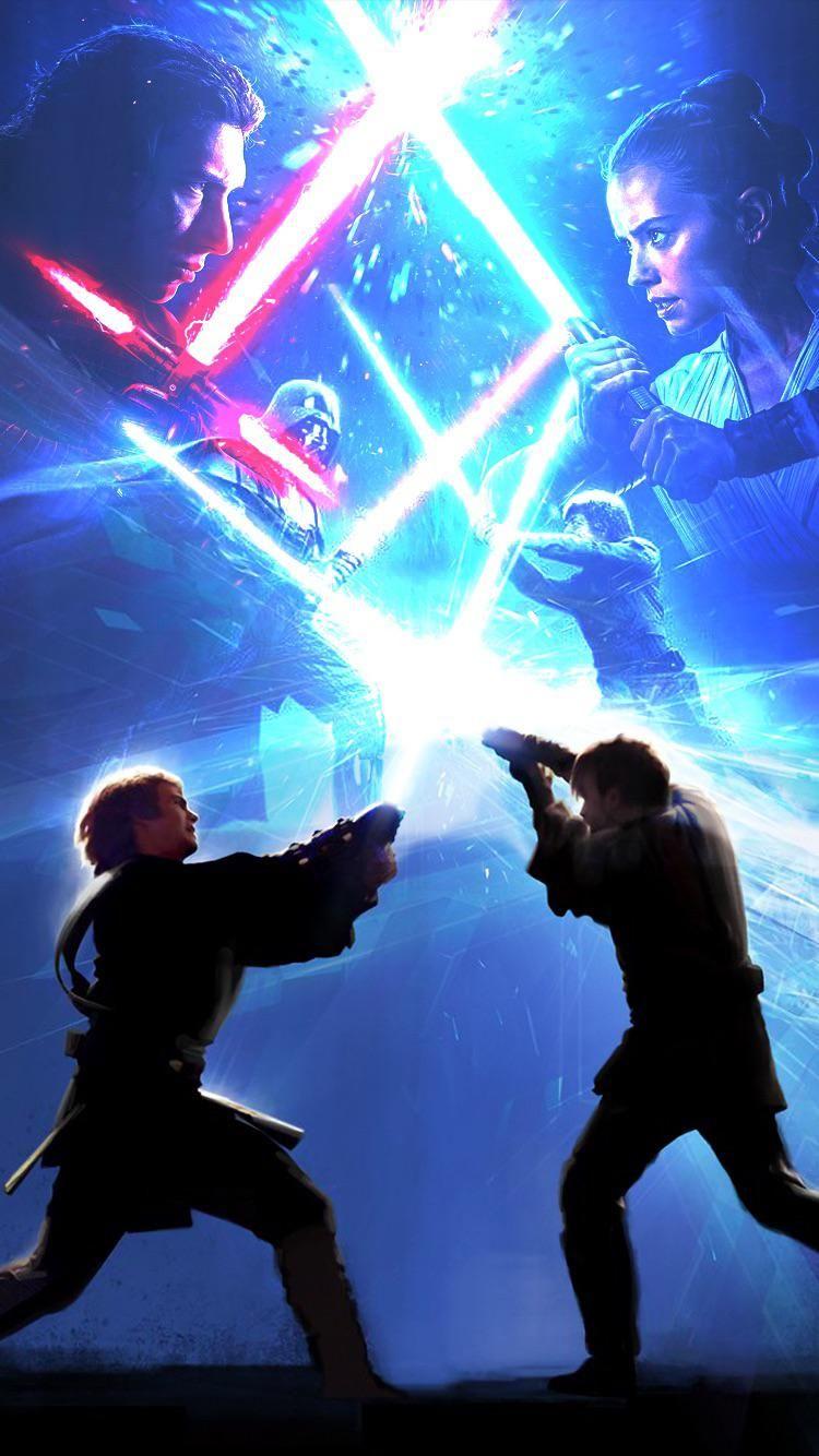 Obi Wan Kenobi And Anakin Skywalker Wallpapers Wallpaper Cave