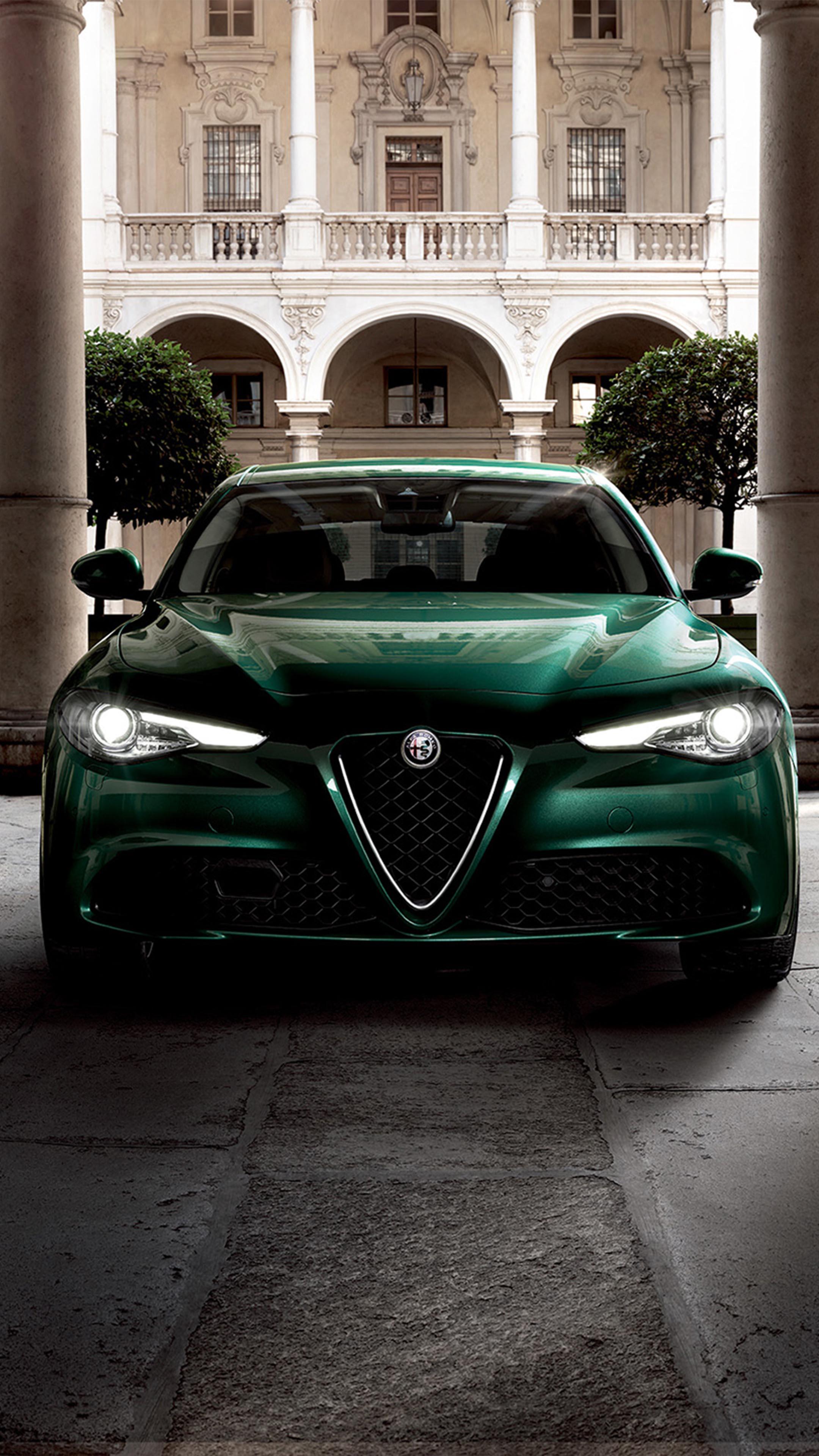 Alfa Romeo Giulia Phone Wallpapers