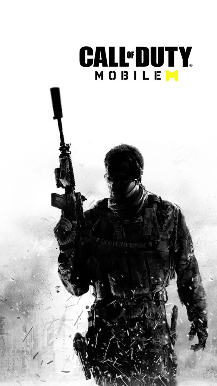 call of duty mobile logo wallpaper