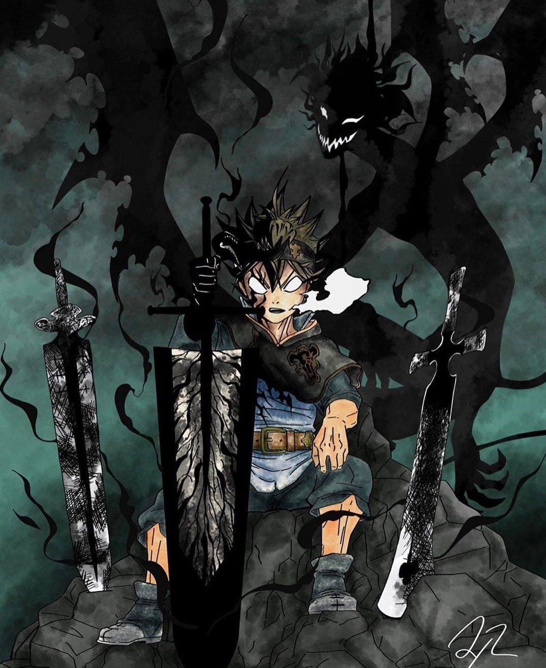 Black Clover Iblis Asta Wallpapers - Wallpaper Cave