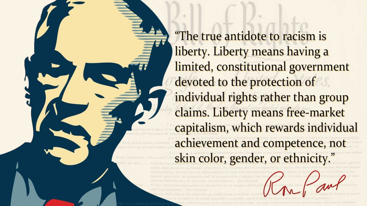 Quotes politics Ron Paul racism wallpapers