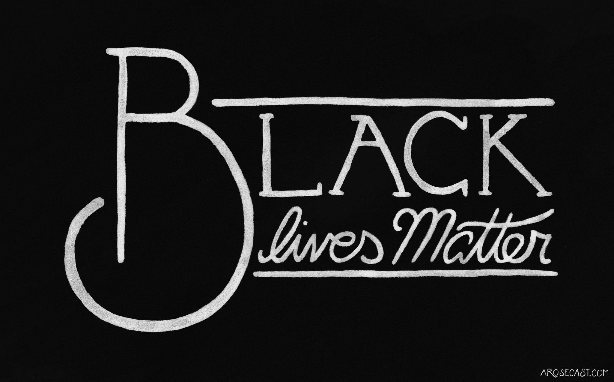 Black Lives Matter // Lexy Portrait and Freebie Wallpapers – A Rose