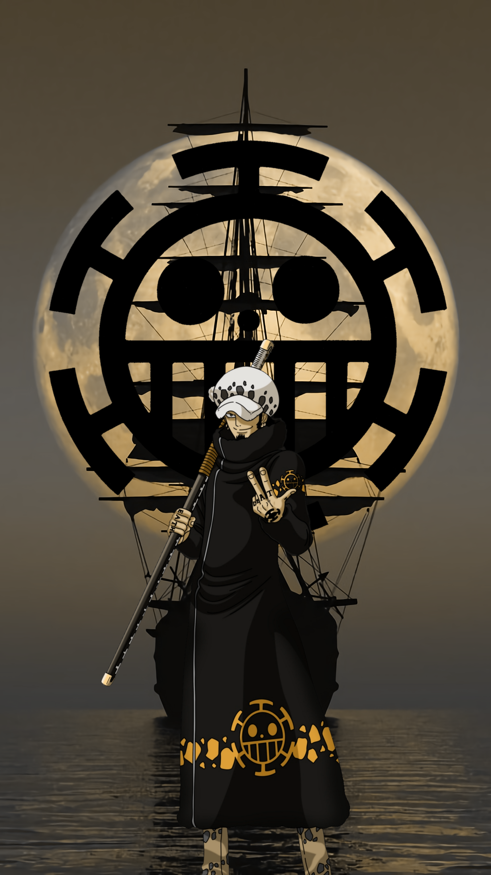 Trafalgar Law Hd Android Wallpapers Wallpaper Cave