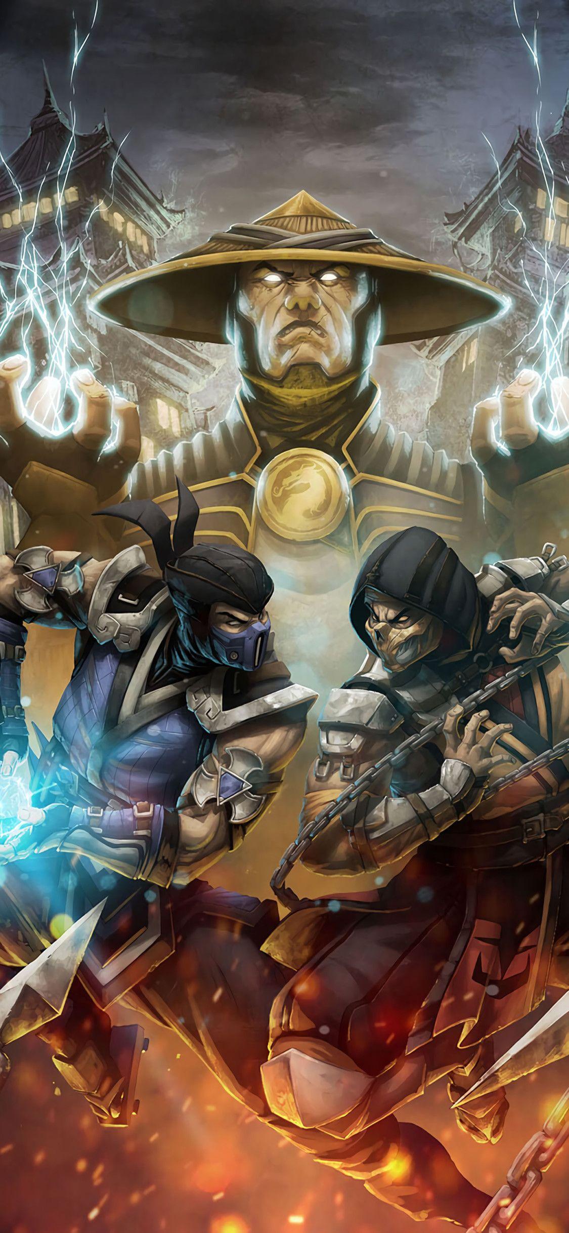 Mortal Kombat HD iPhone Wallpapers - Wallpaper Cave