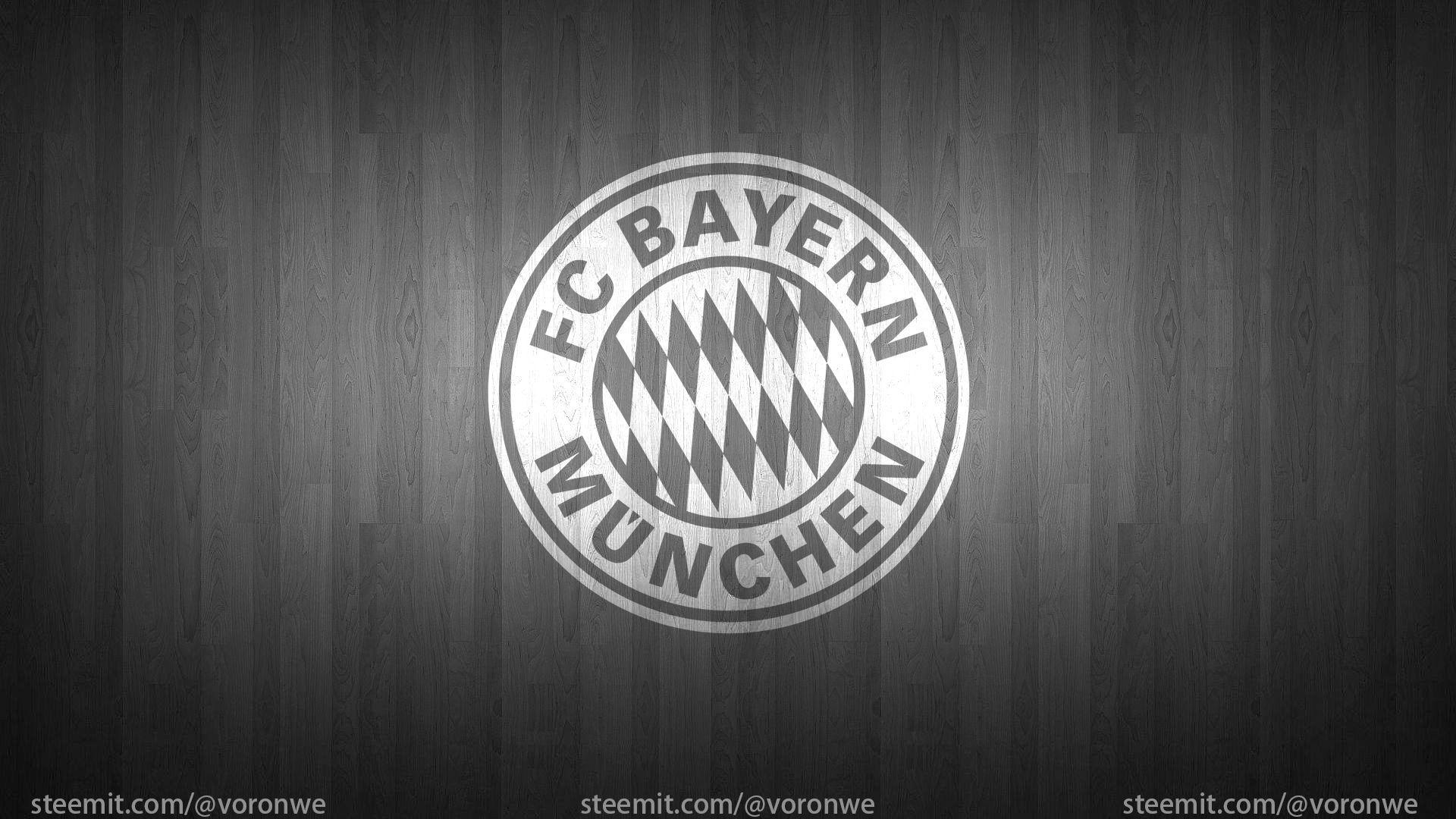 Bayern Munich Black And White Logo Wallpapers - Wallpaper Cave