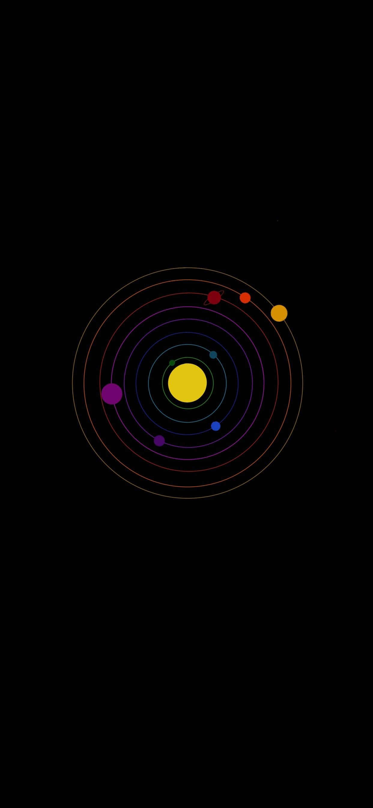Solar System iPhone Wallpapers - Wallpaper Cave