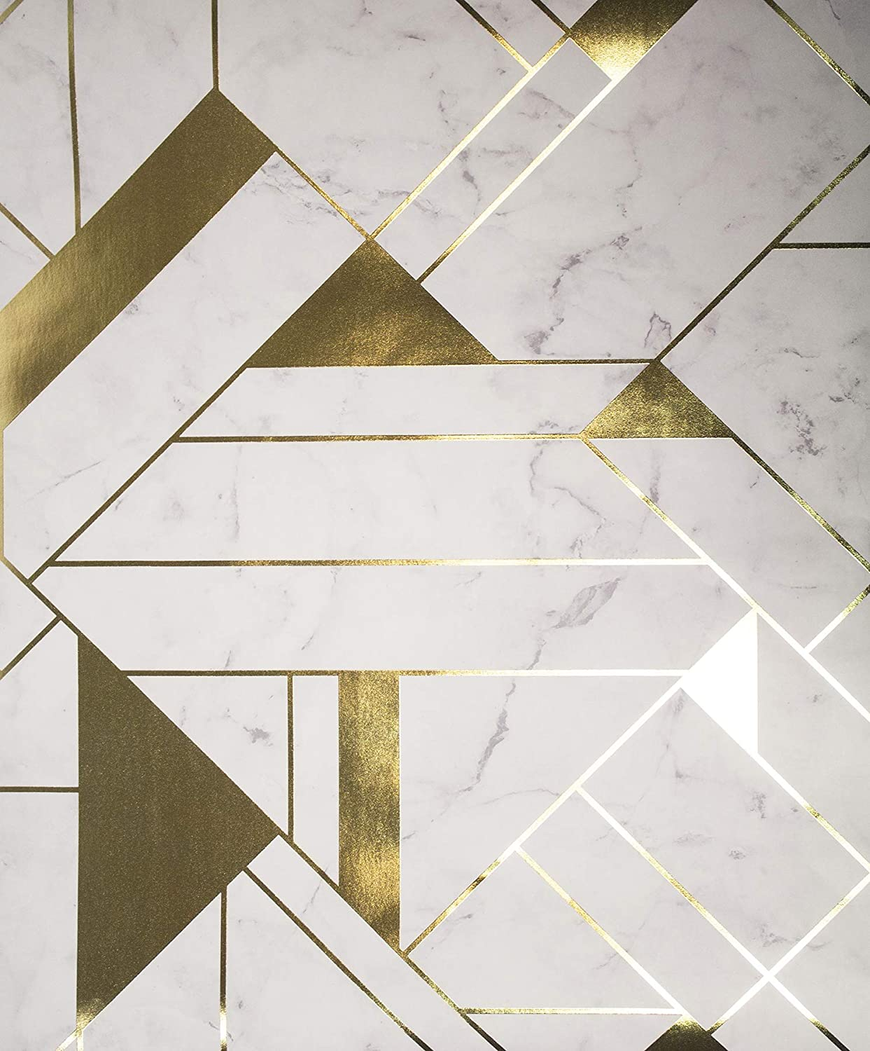 Gold And White Geometric Wallpapers - Wallpaper Cave