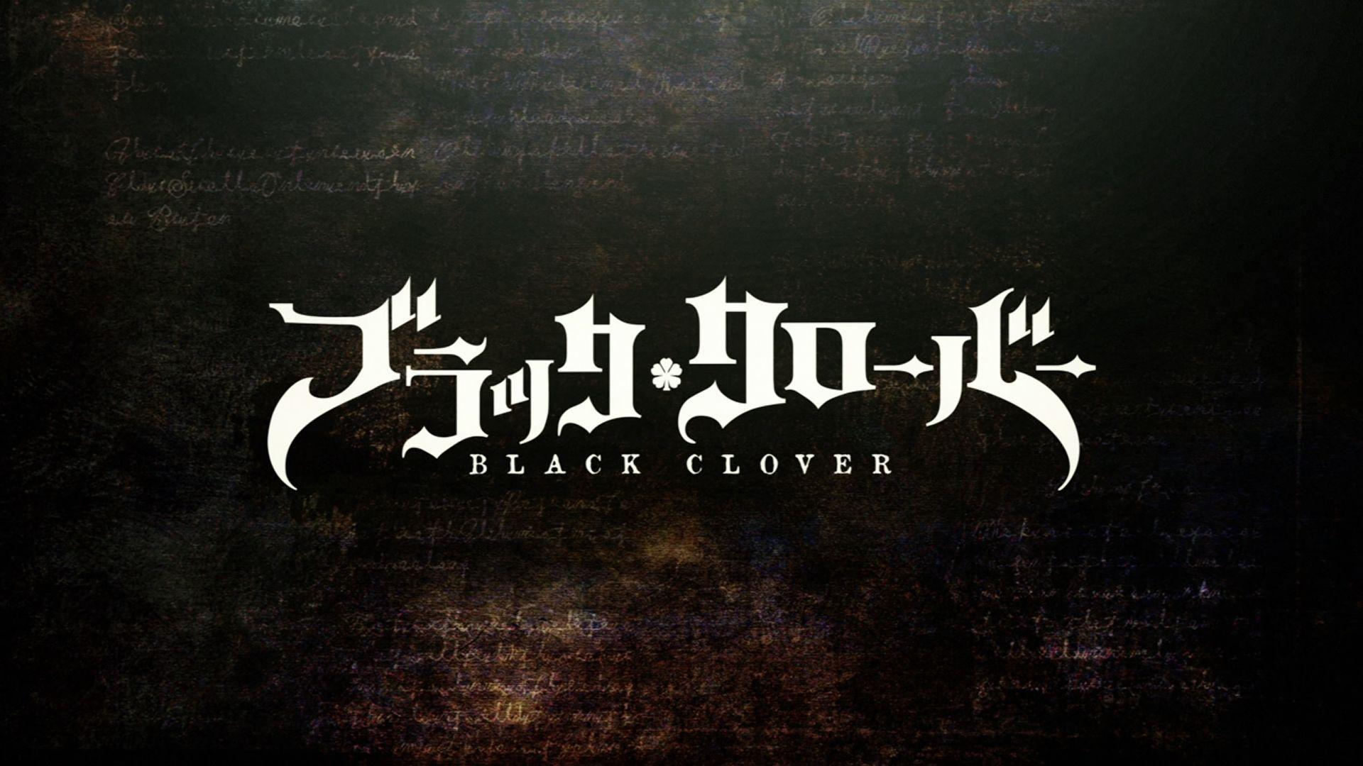 Black Clover Desktop 1920x1080 Wallpapers Wallpaper Cave