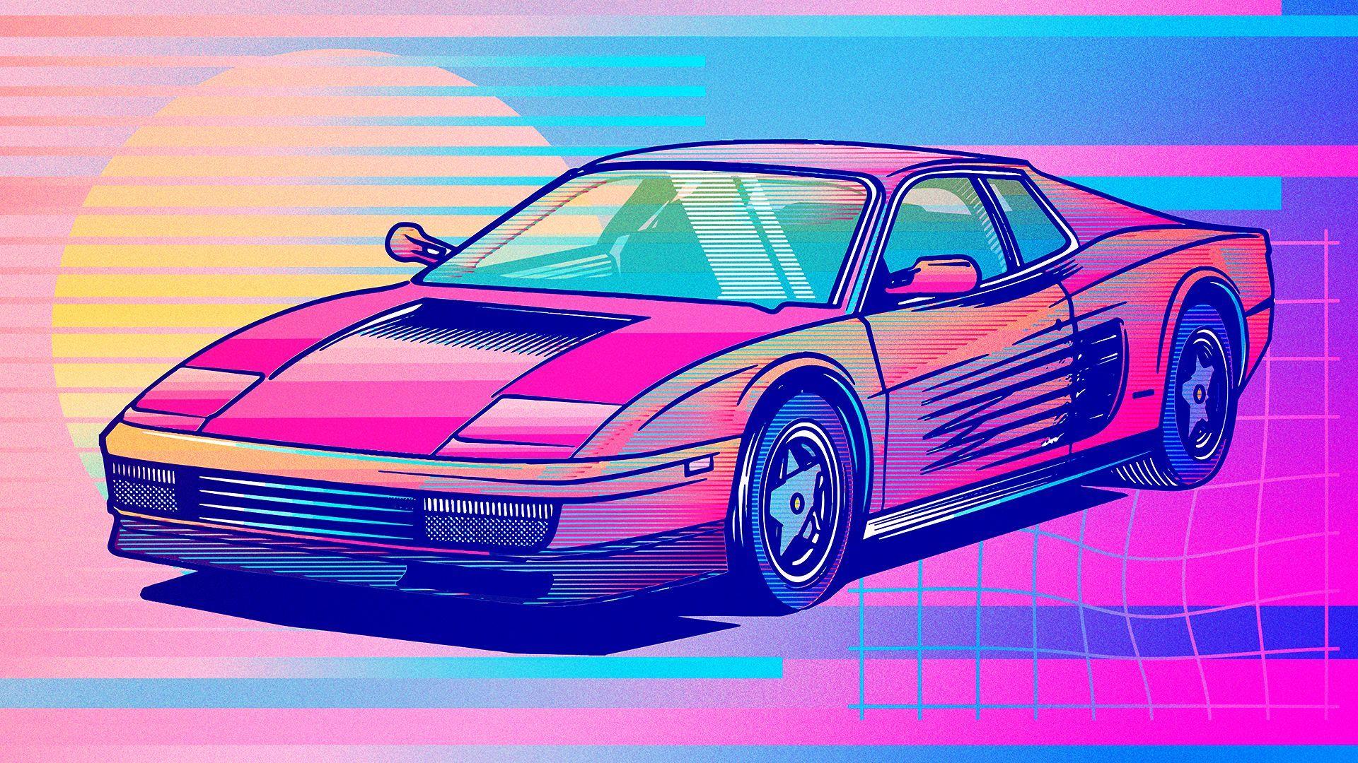 Aesthetic Car Desktop Wallpapers Wallpaper Cave