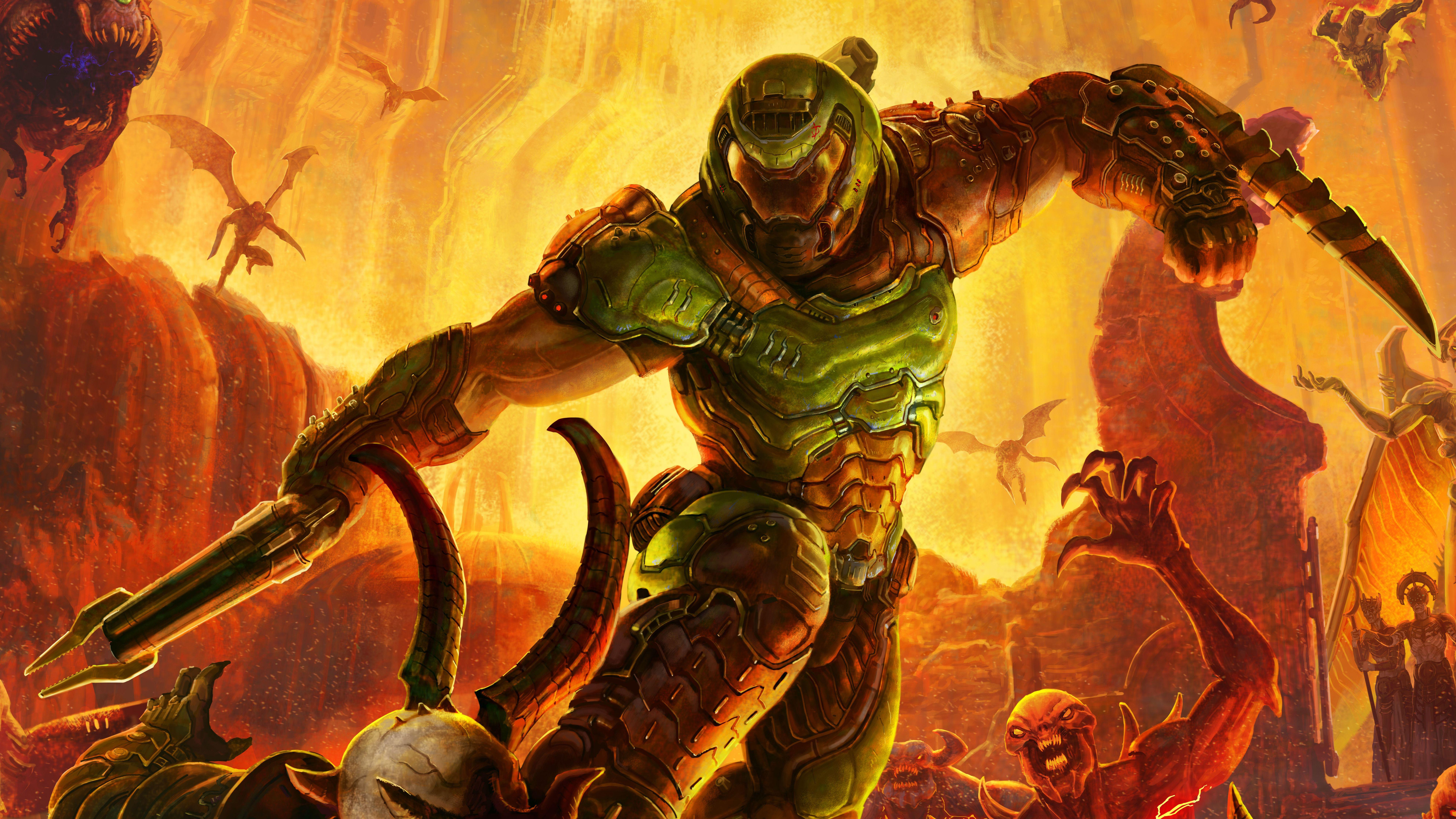 Best Doom Wallpaper 4k & HD for PC & Mobile 14