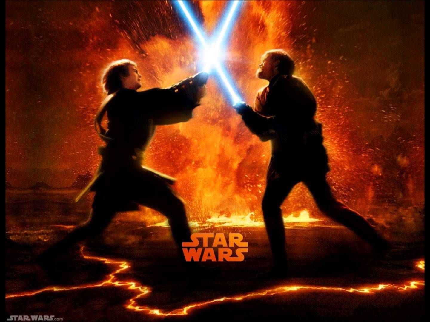 Obi Wan Kenobi Vs Anakin Skywalker Desktop Wallpapers Wallpaper Cave